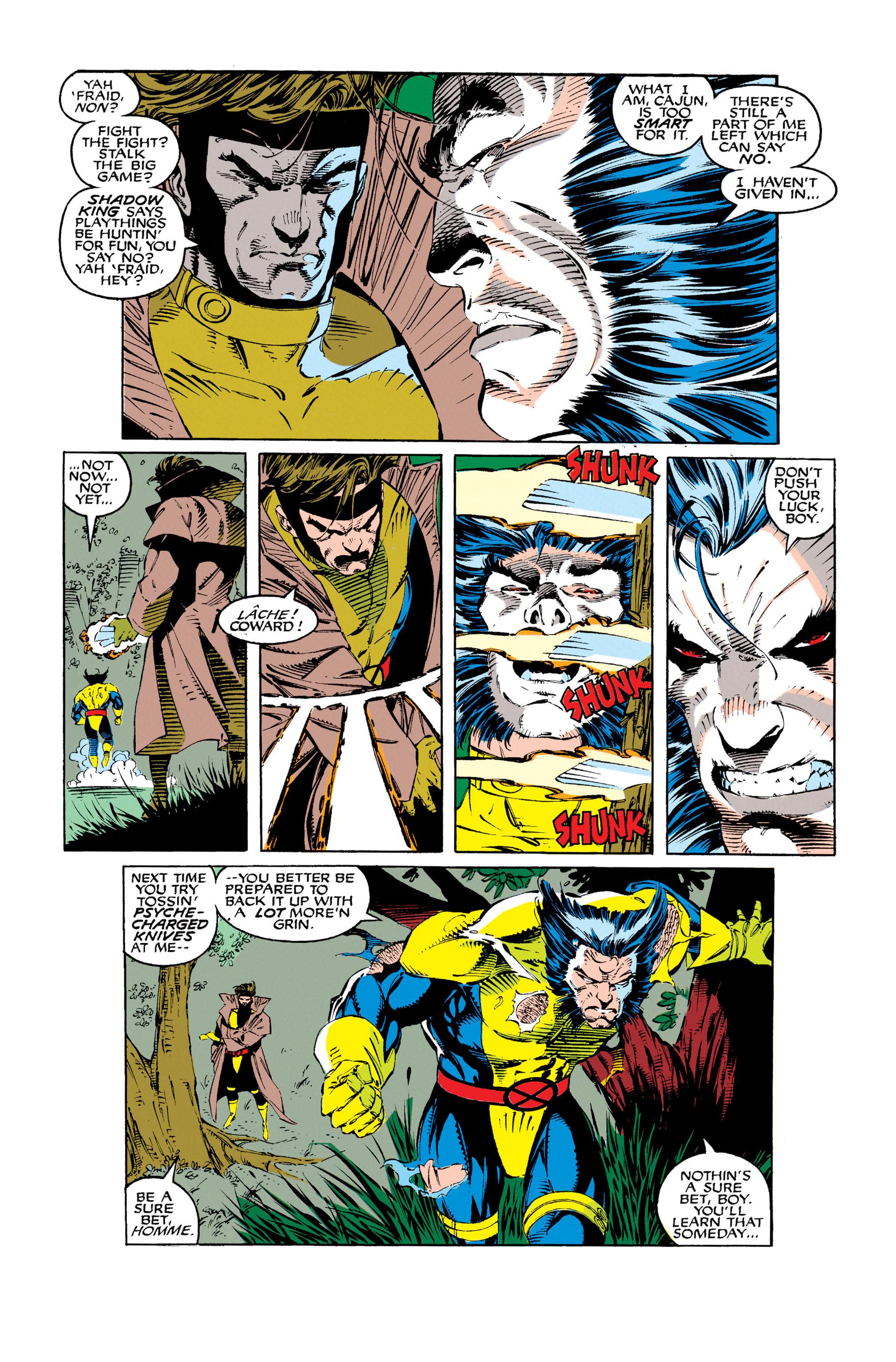 Read online Uncanny X-Men (1963) comic -  Issue #279 - 16