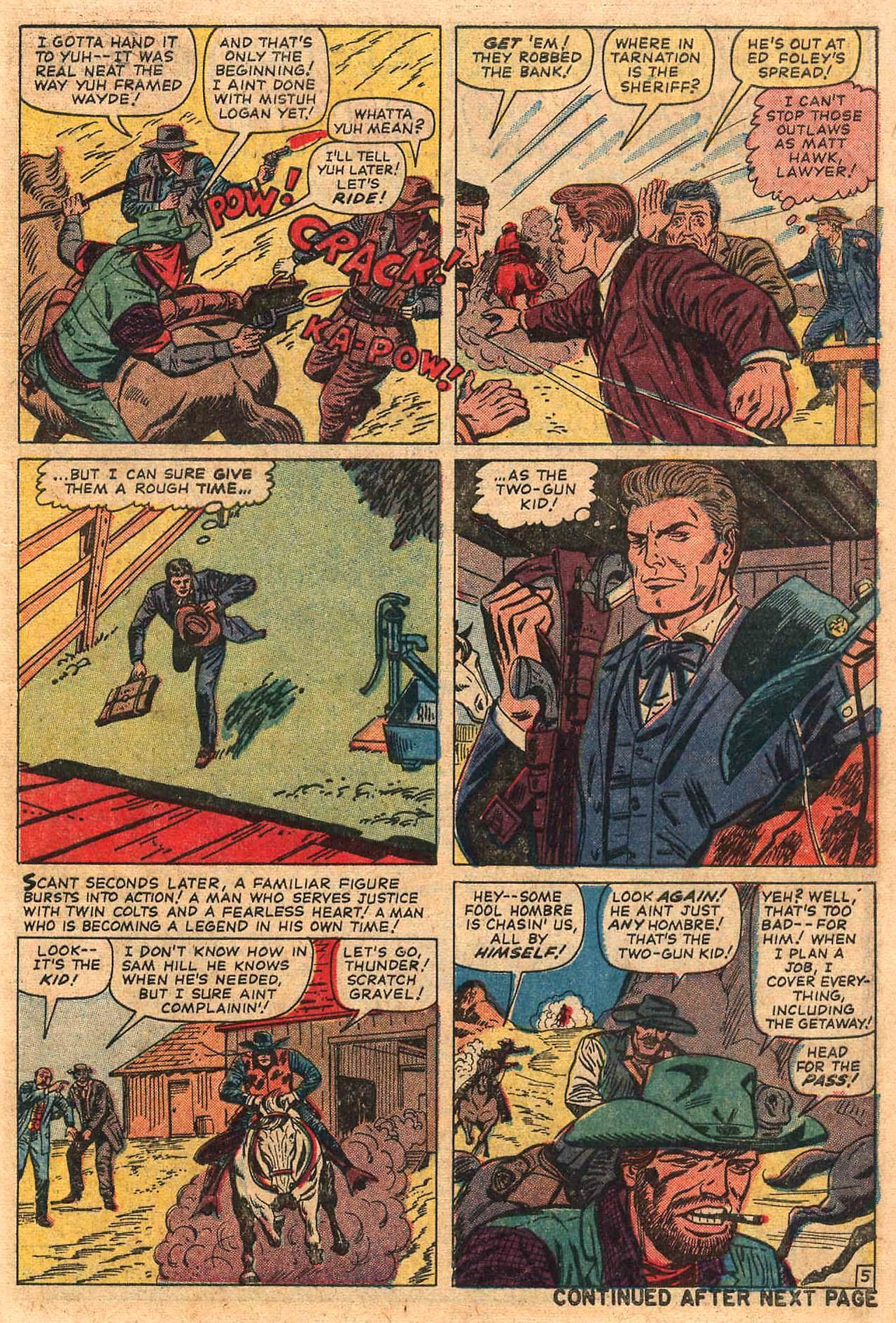 Read online Two-Gun Kid comic -  Issue #82 - 7