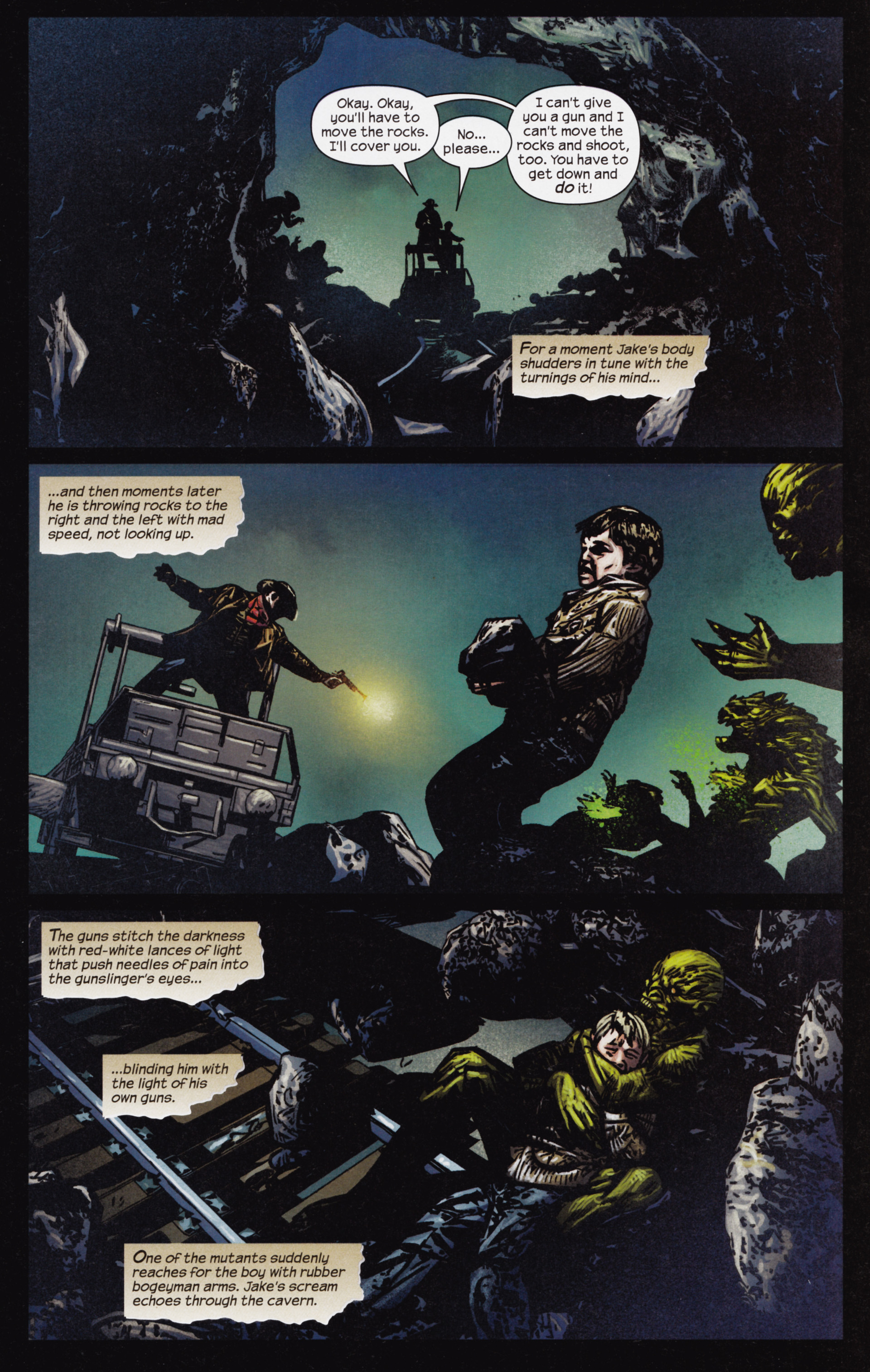 Read online Dark Tower: The Gunslinger - The Man in Black comic -  Issue #3 - 10