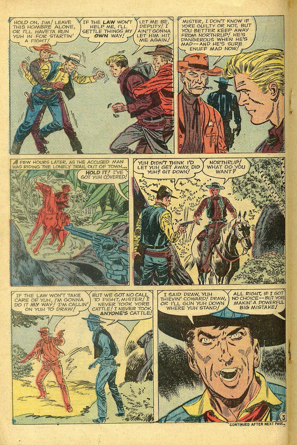 Gunsmoke Western issue 58 - Page 18