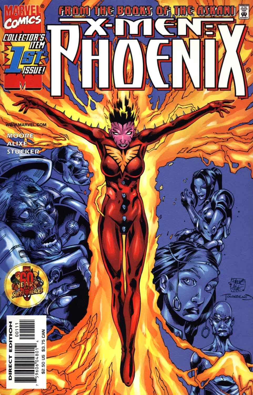 X-Men: Phoenix issue 1 - Page 1