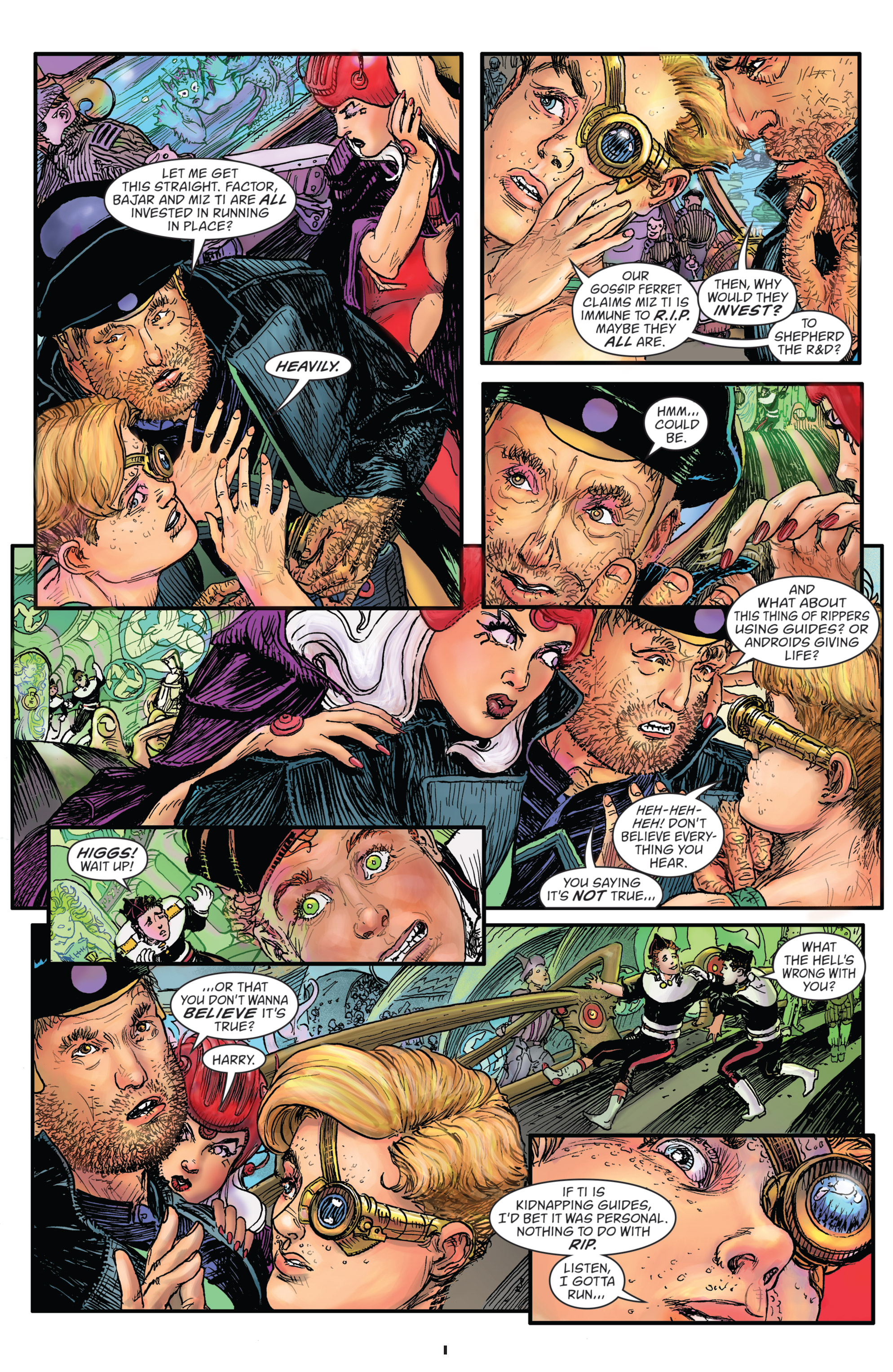 Read online Starstruck: Old Proldiers Never Die comic -  Issue #5 - 3