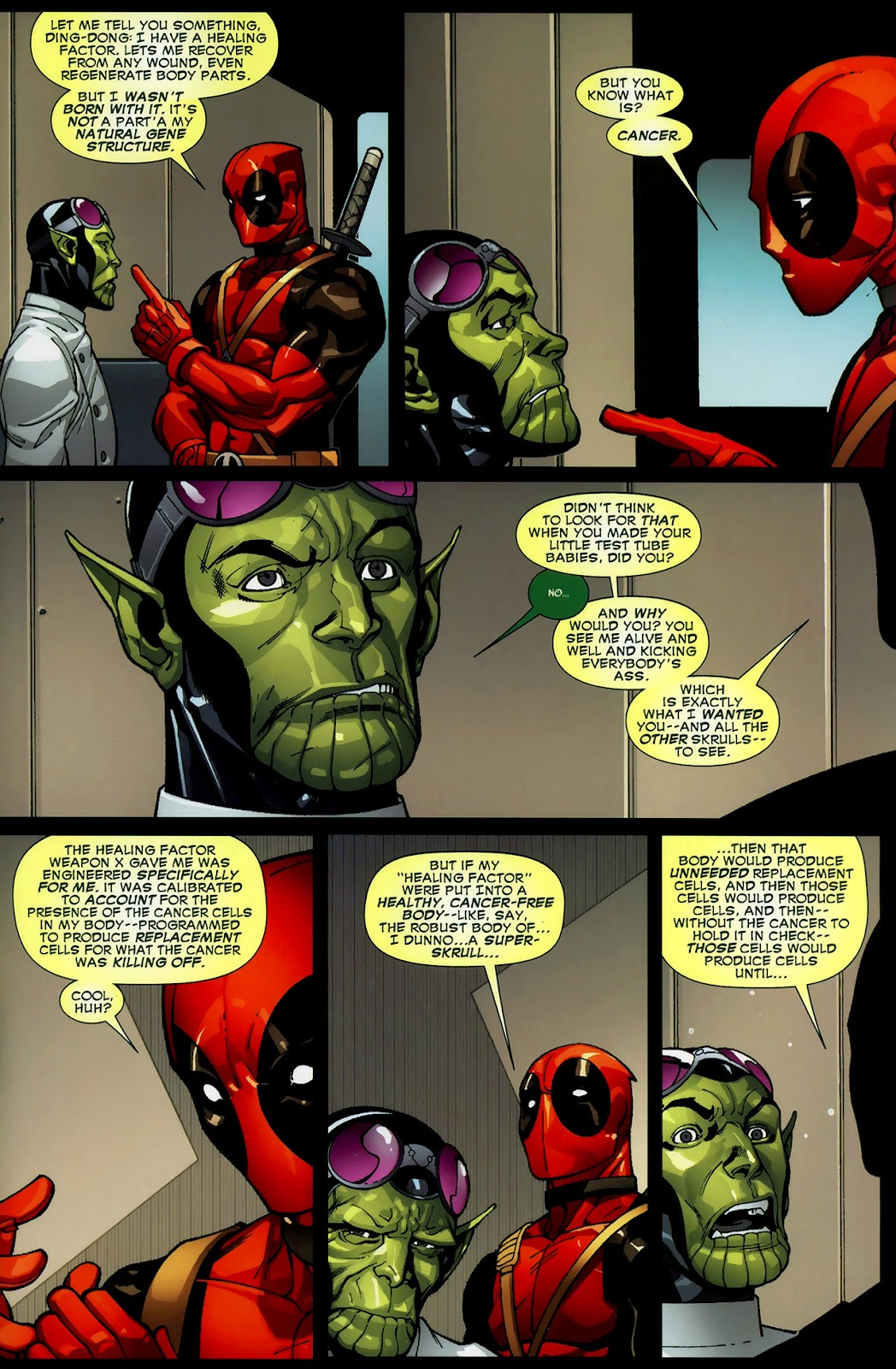 Read online Deadpool (2008) comic -  Issue #3 - 17