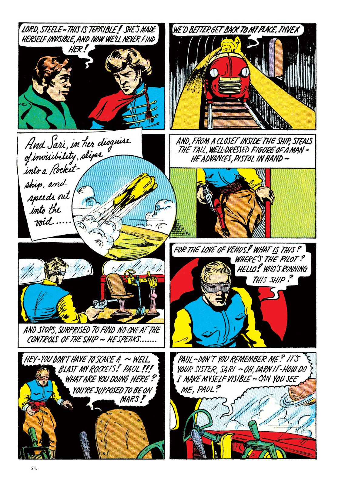 Read online The Bill Everett Archives comic -  Issue # TPB 2 (Part 1) - 25