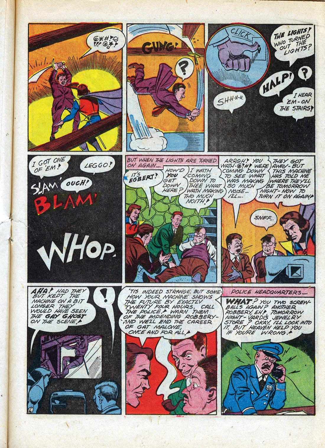 Read online Sensation (Mystery) Comics comic -  Issue #26 - 37