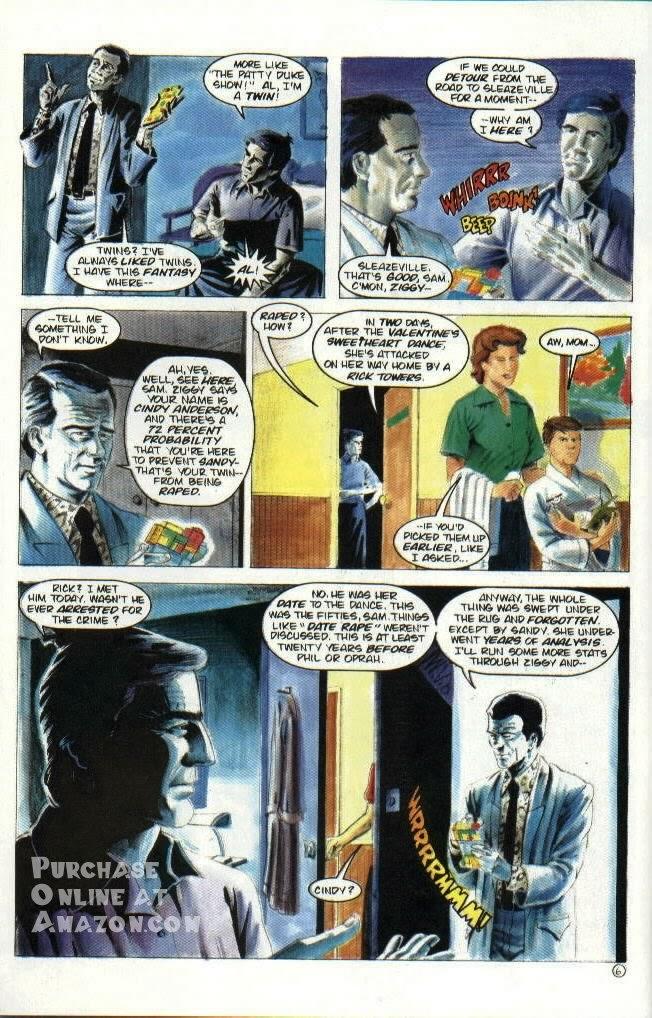 Read online Quantum Leap comic -  Issue #6 - 7