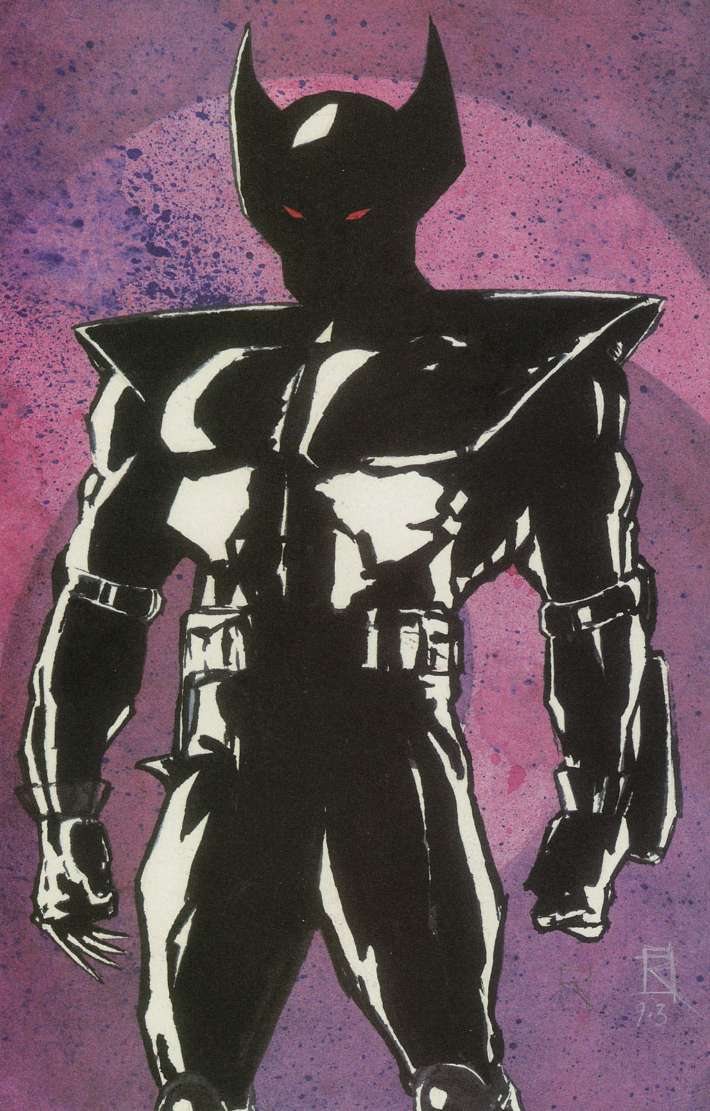 Read online ShadowHawk Gallery comic -  Issue # Full - 25