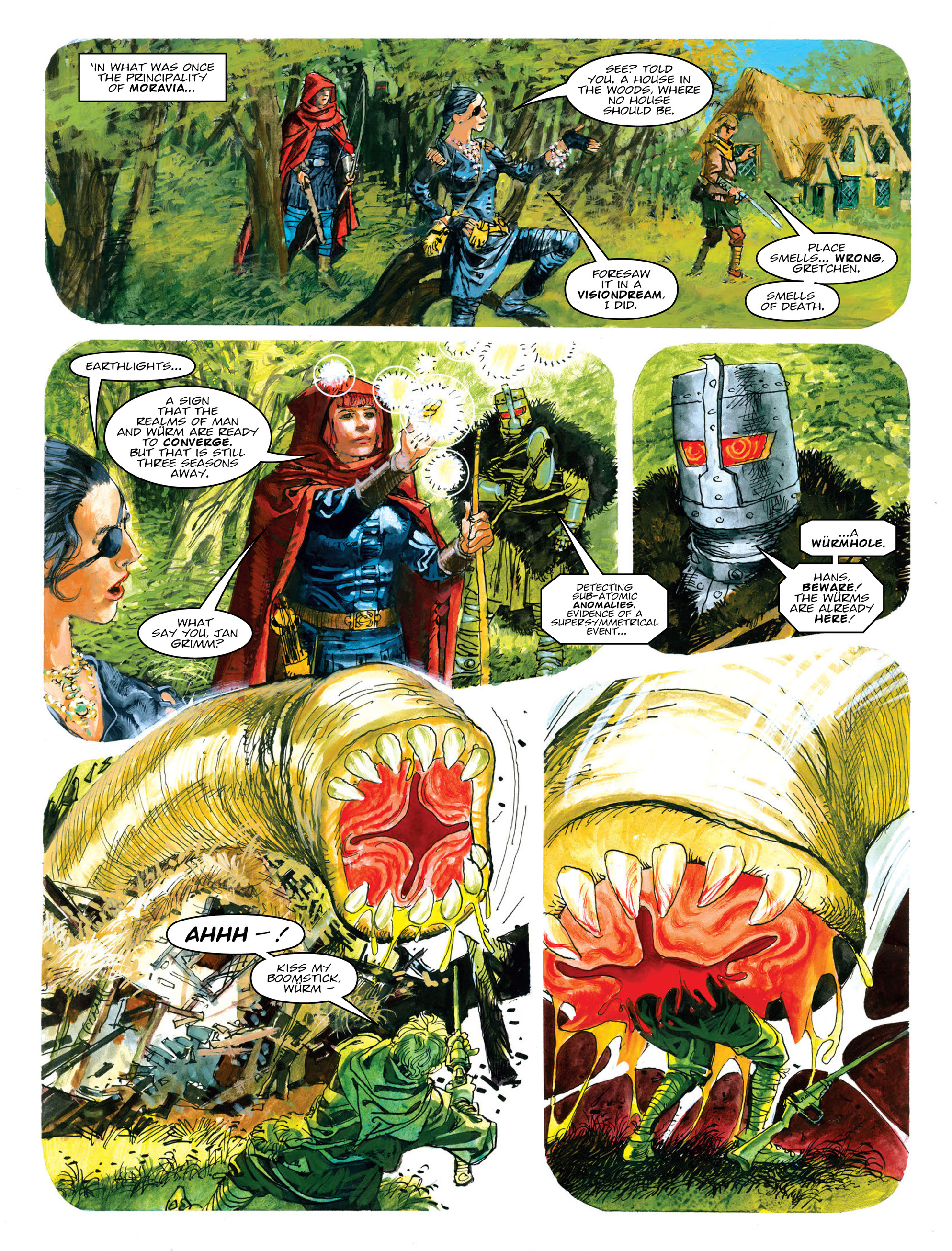 Read online 2000 AD comic -  Issue #2011 - 51