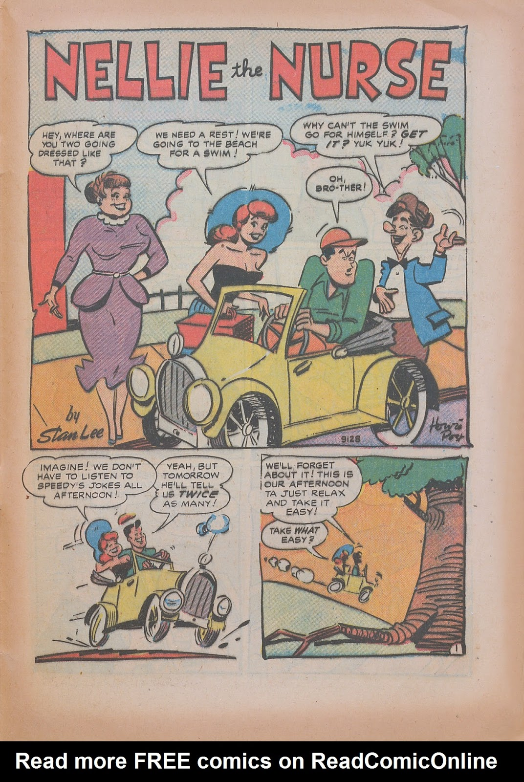Read online Nellie The Nurse (1945) comic -  Issue #31 - 29