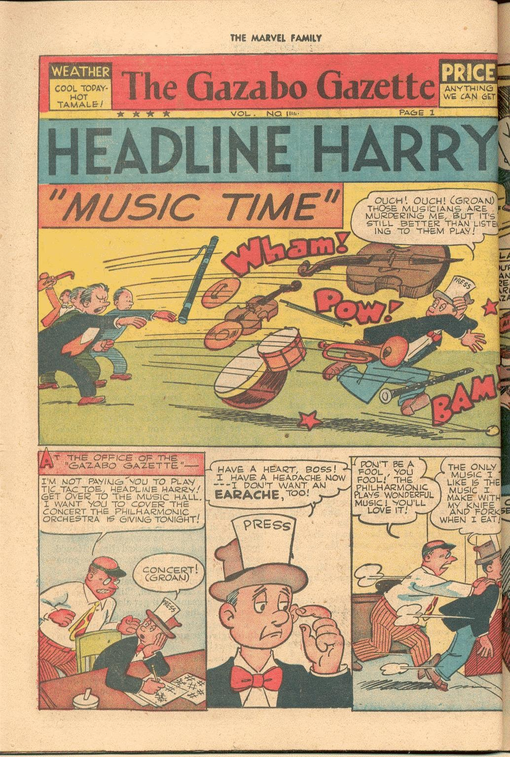 The Marvel Family issue 38 - Page 36