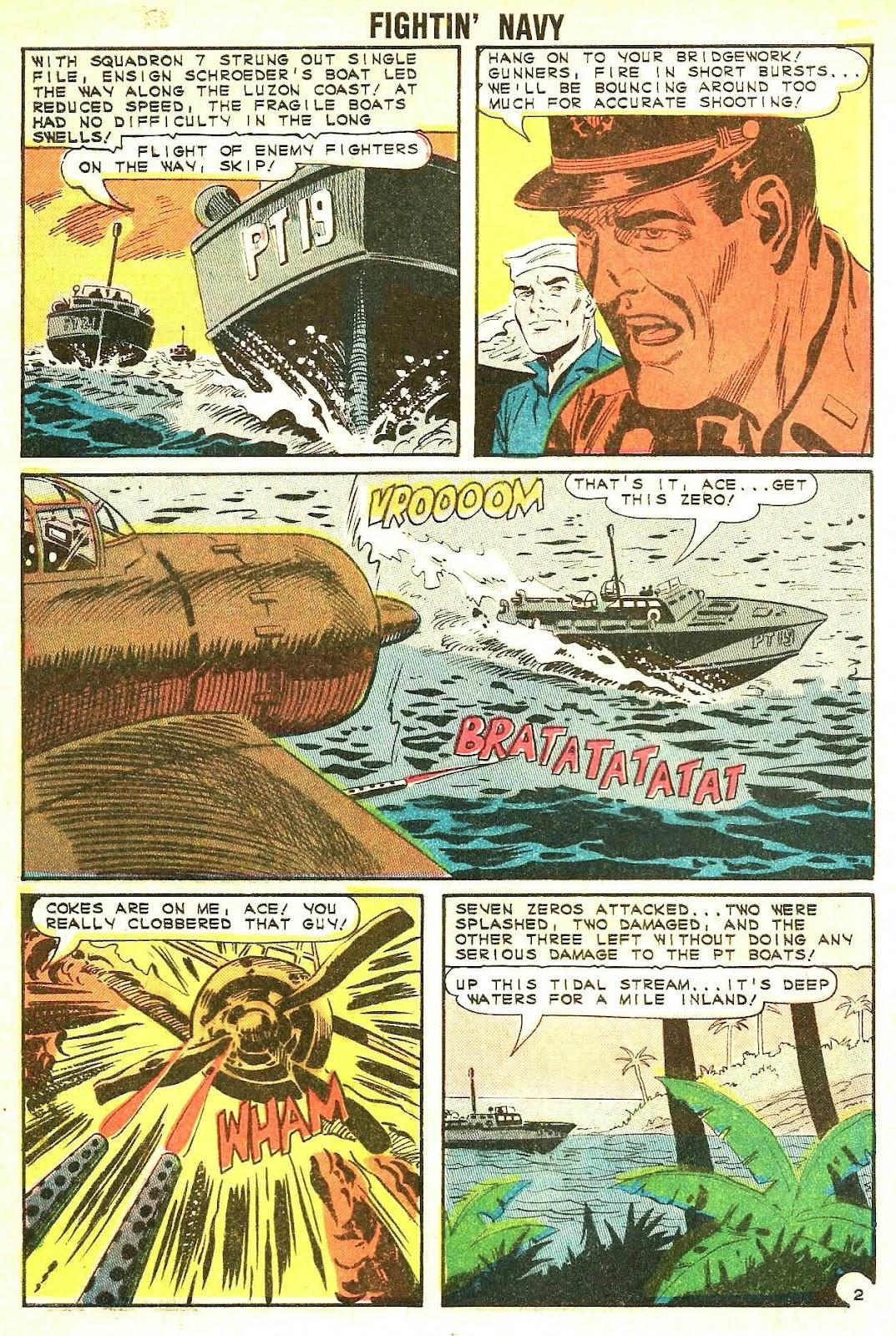 Read online Fightin' Navy comic -  Issue #117 - 4