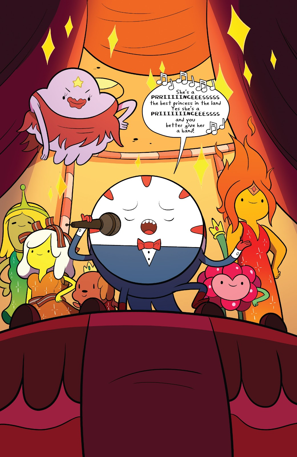 Read online Adventure Time comic -  Issue #63 - 4