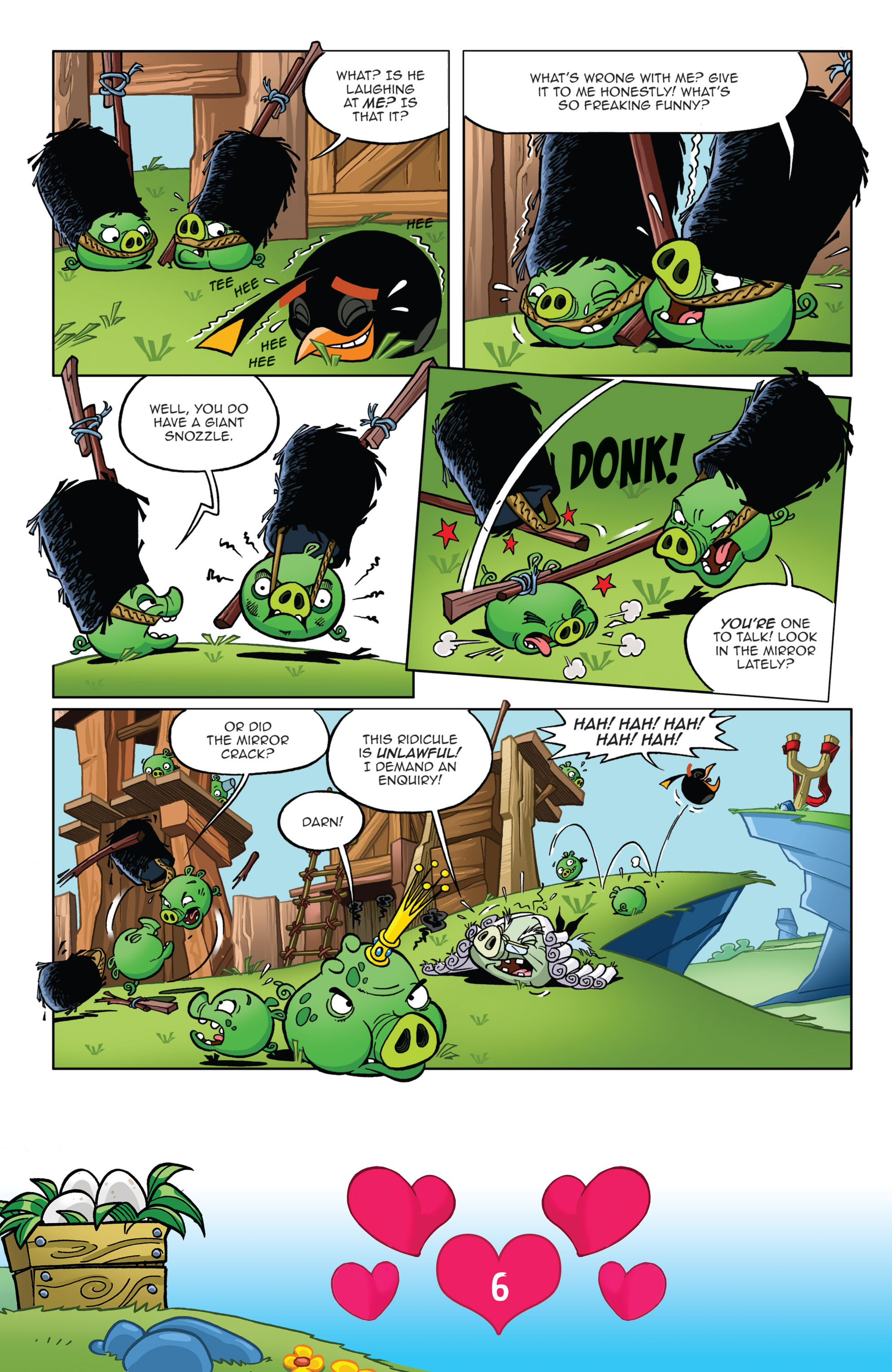 Read online Angry Birds Comics (2016) comic -  Issue #2 - 8