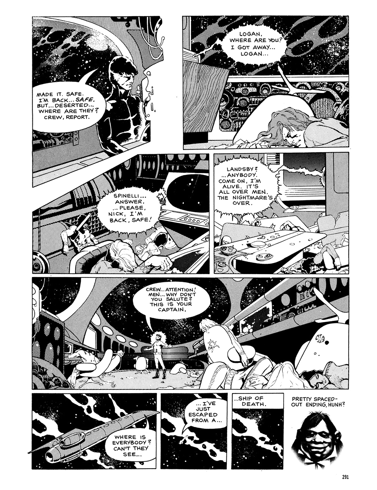Read online Eerie Archives comic -  Issue # TPB 8 - 292
