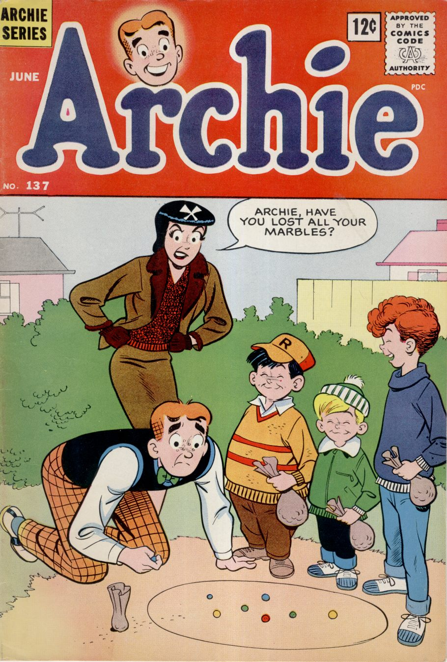 Read online Archie (1960) comic -  Issue #137 - 1