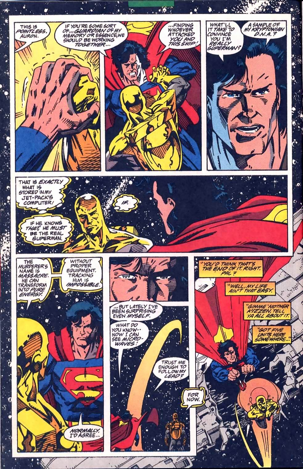 Read online Adventures of Superman (1987) comic -  Issue #509 - 12