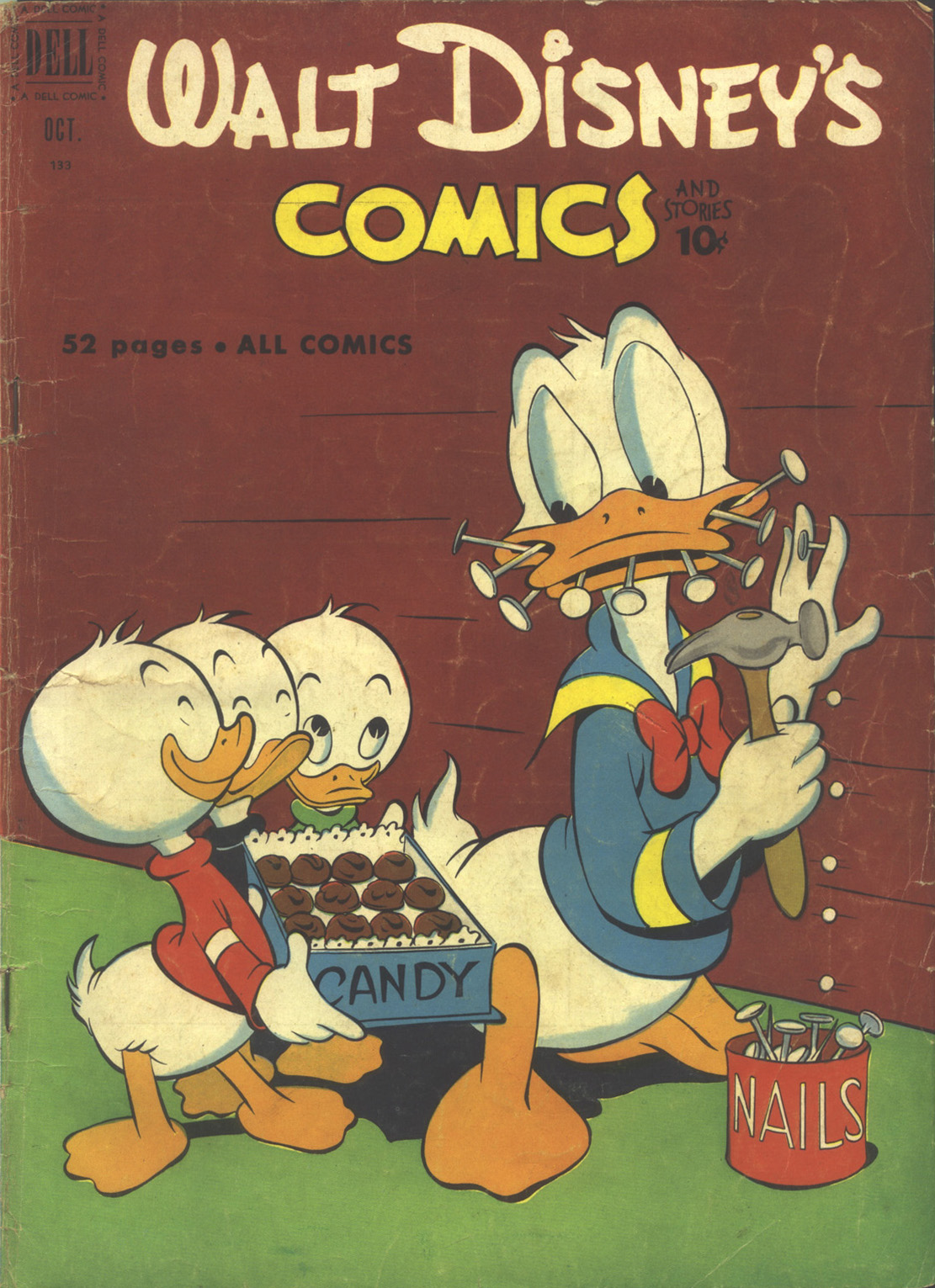 Walt Disneys Comics and Stories 133 Page 1