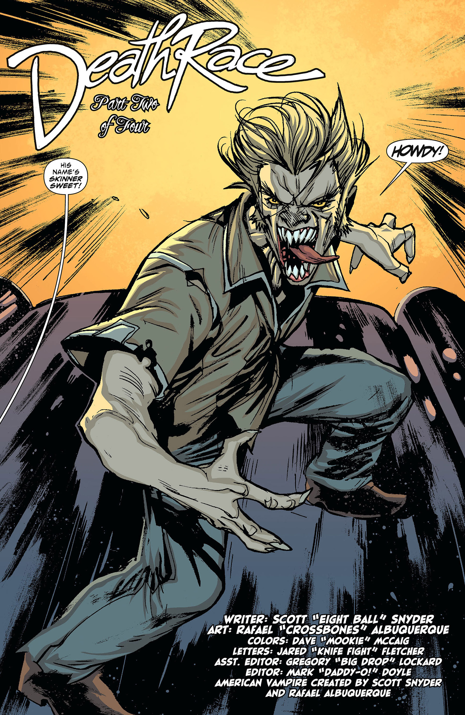 Read online American Vampire comic -  Issue #23 - 21