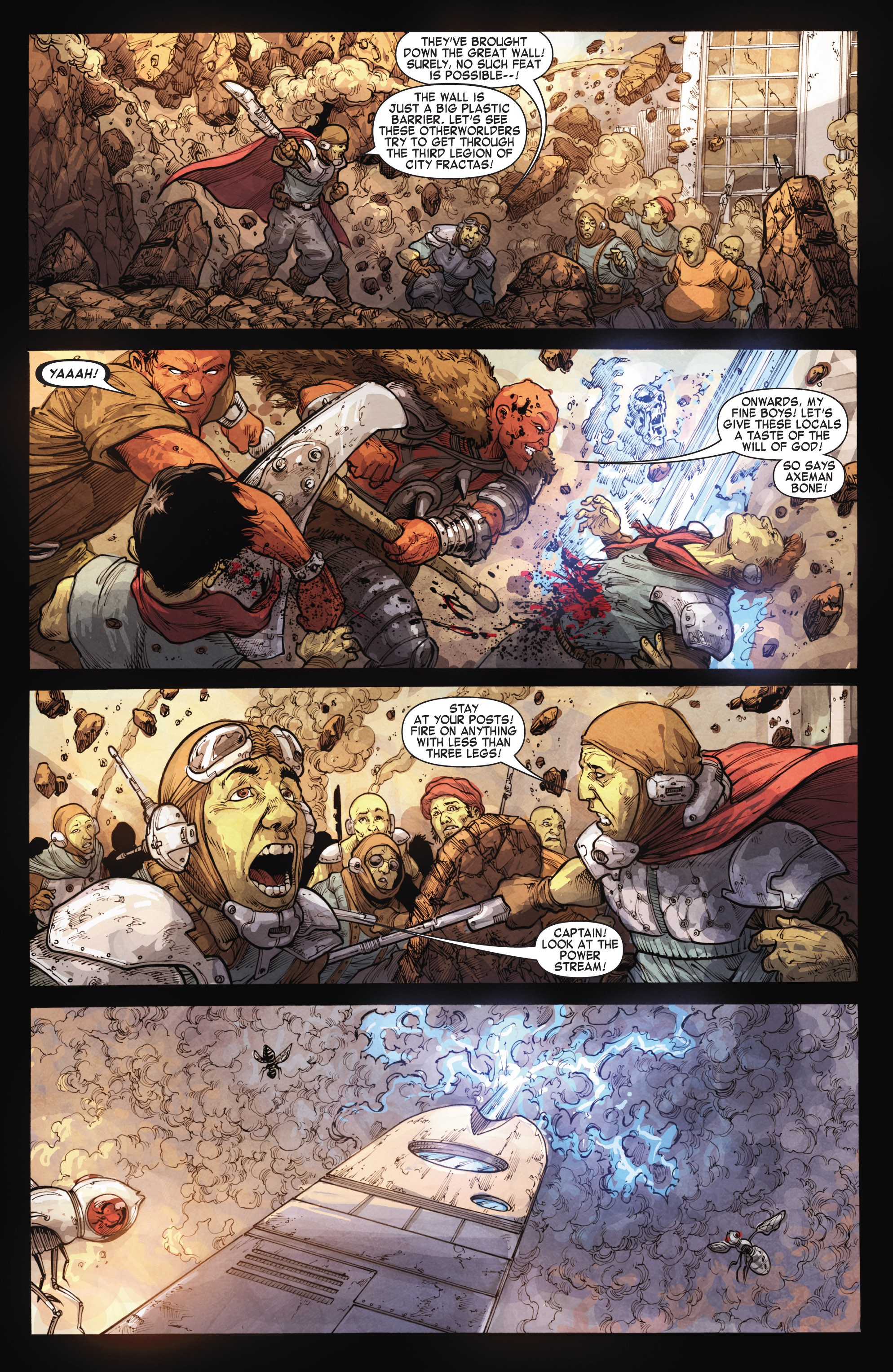 Read online Skaar: Son of Hulk comic -  Issue #15 - 4