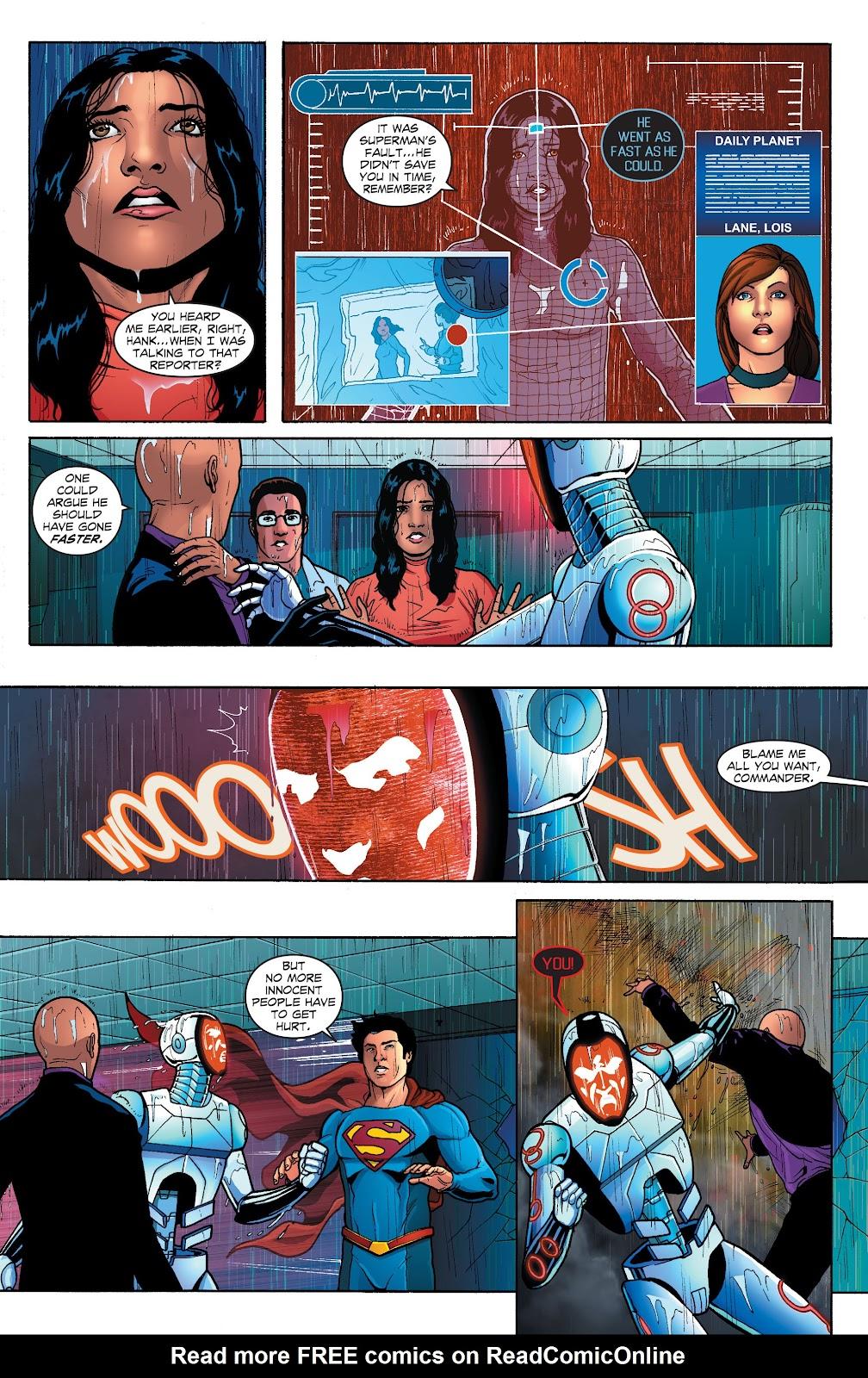 Read online Smallville Season 11 [II] comic -  Issue # TPB 1 - 110
