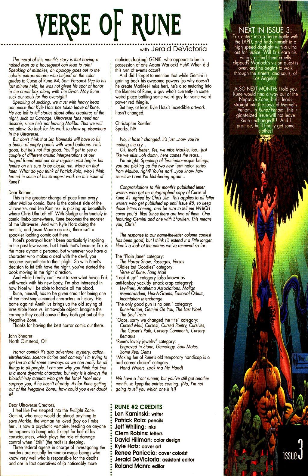 Read online Rune (1995) comic -  Issue #2 - 26