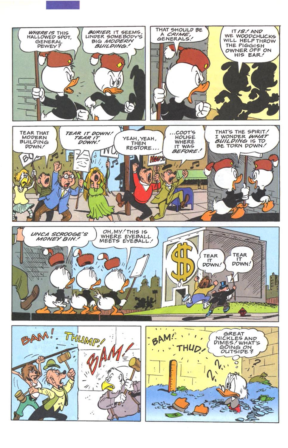 Read online Uncle Scrooge (1953) comic -  Issue #287 - 19