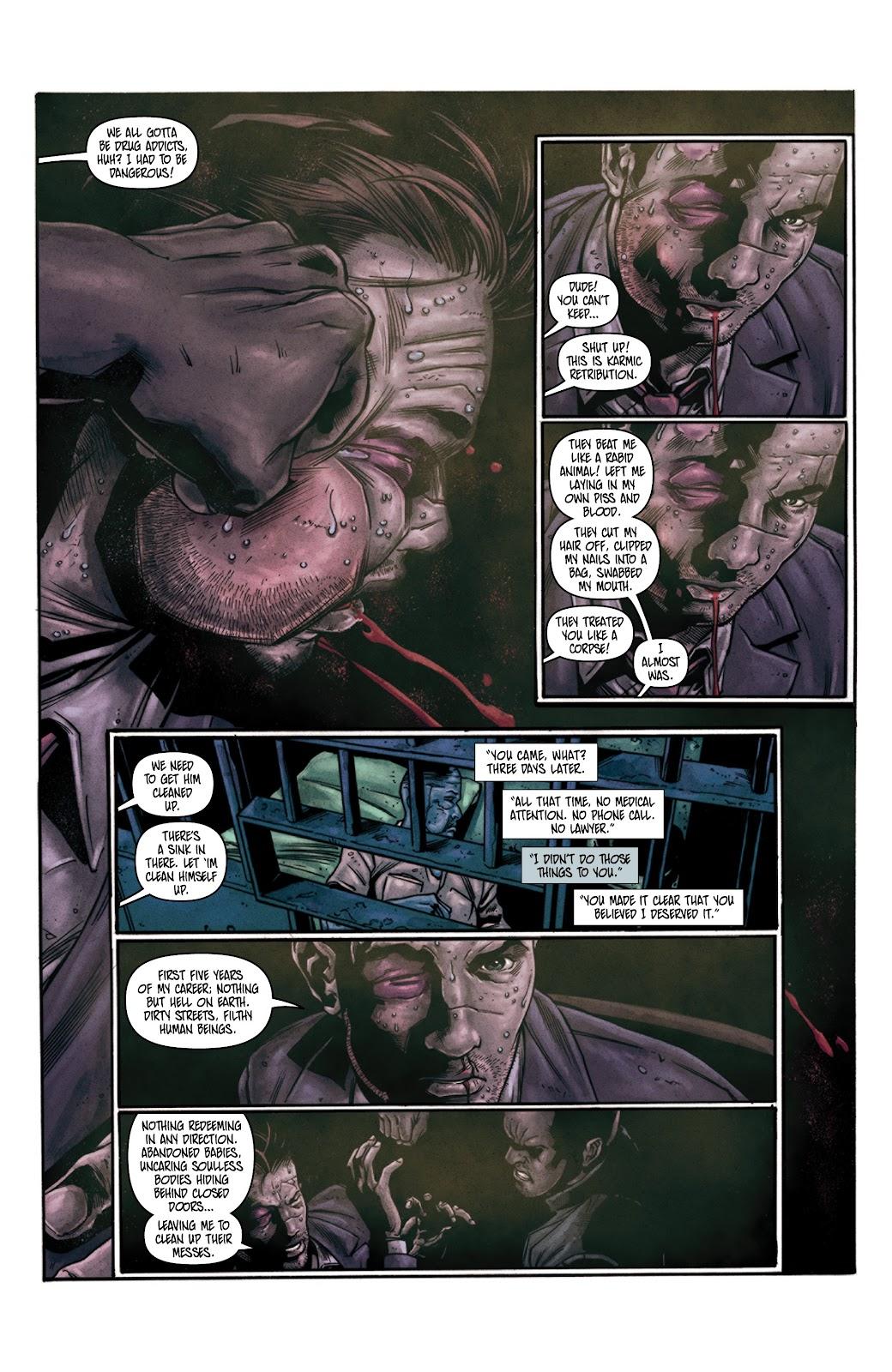 Read online Vindication comic -  Issue #3 - 10