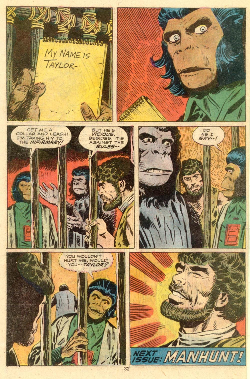 Read online Adventures on the Planet of the Apes comic -  Issue #2 - 23