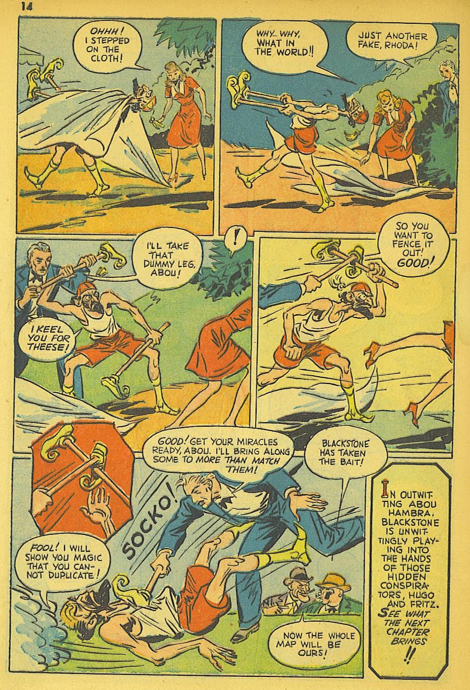 Read online Super-Magician Comics comic -  Issue #19 - 14