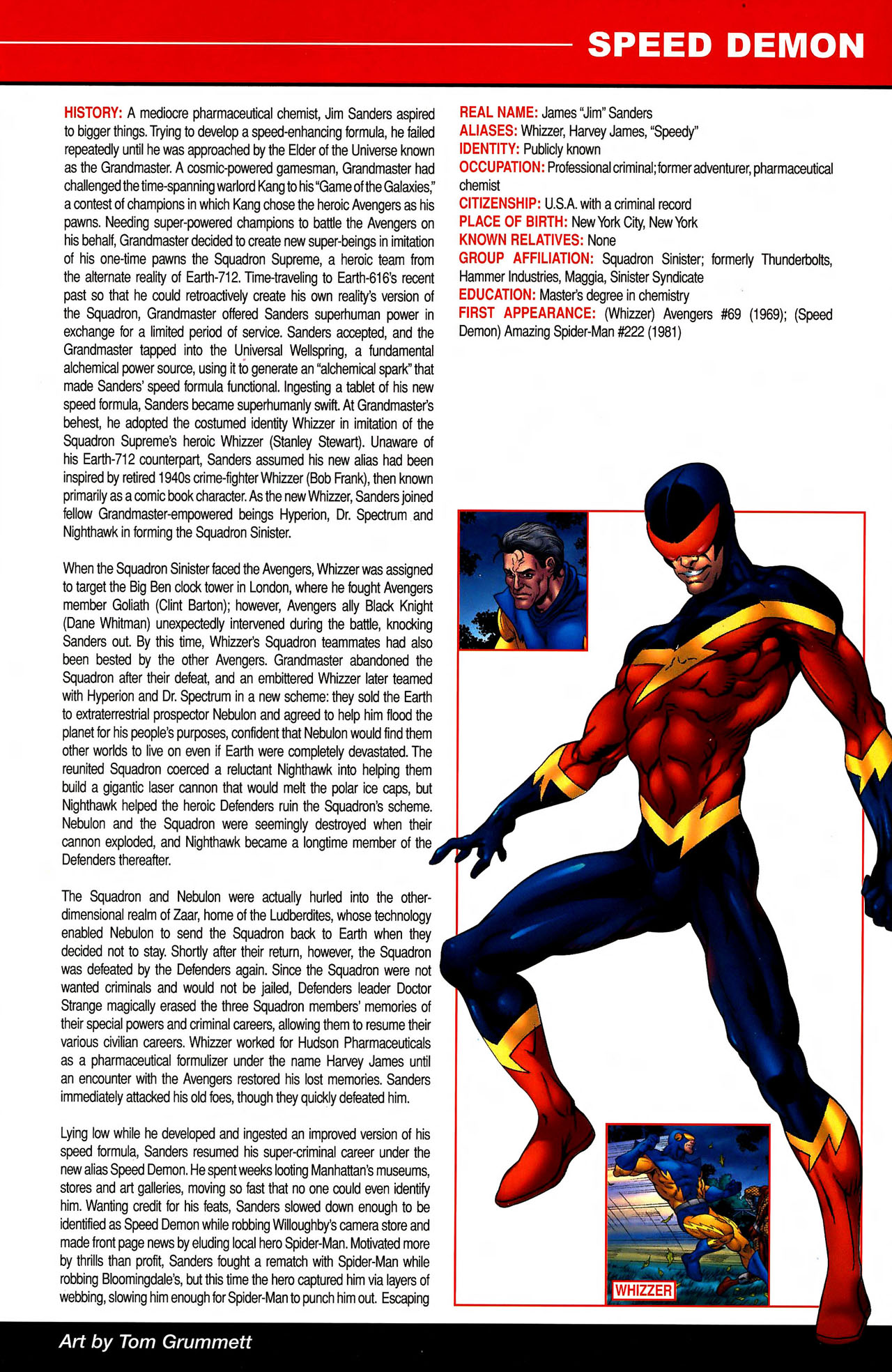 Read online All-New Official Handbook of the Marvel Universe A to Z comic -  Issue #10 - 33
