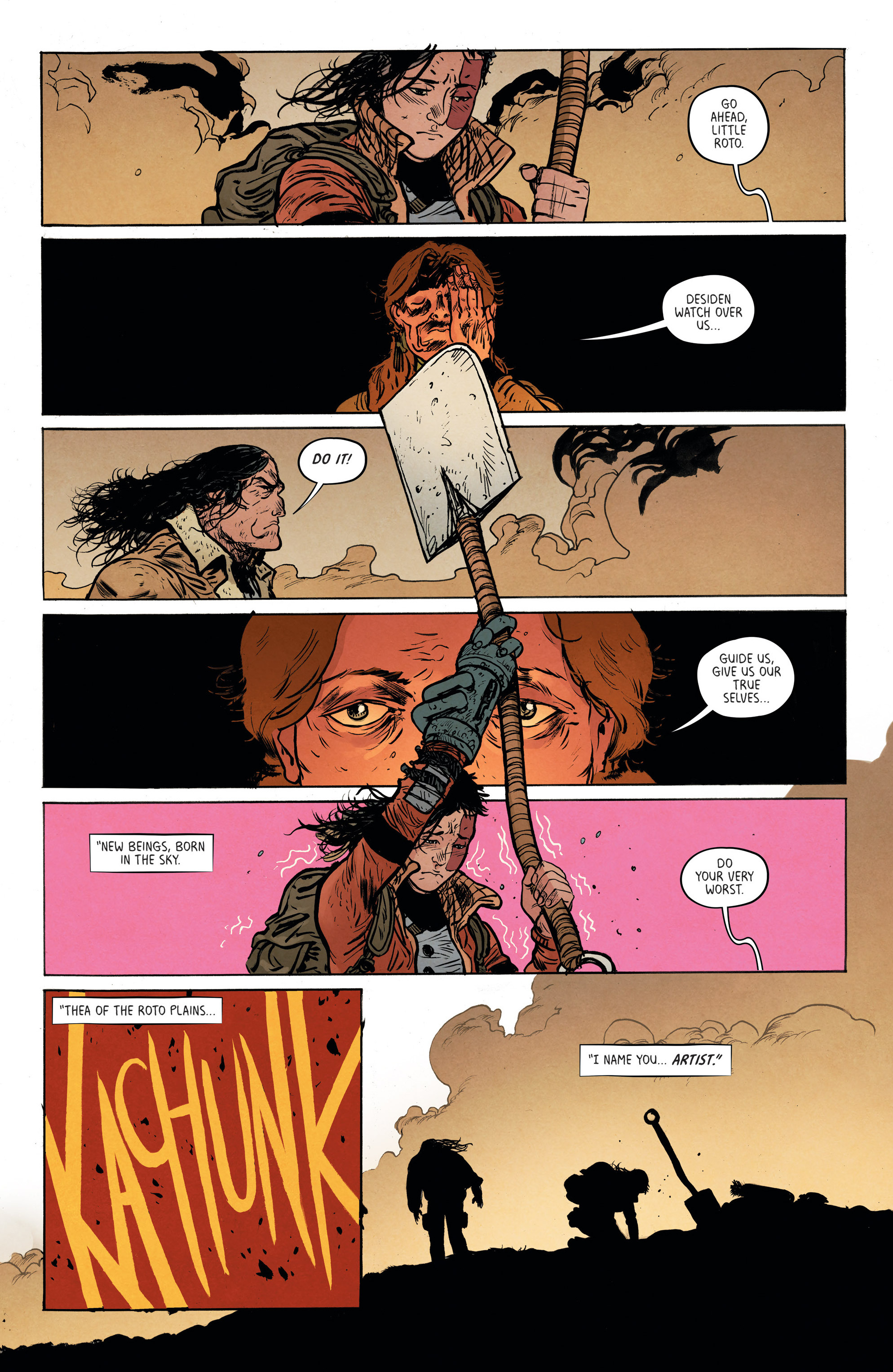 Read online Extremity comic -  Issue #3 - 19