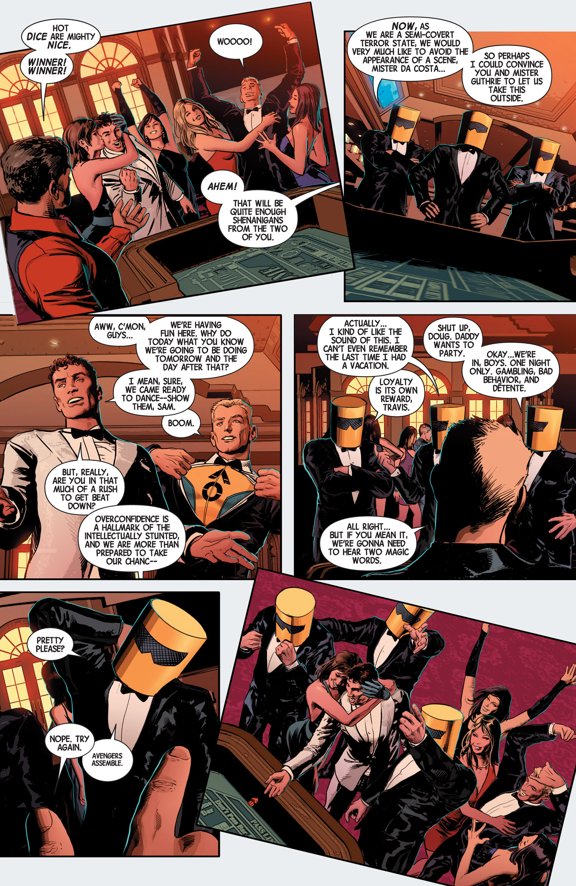 Read online Avengers (2013) comic -  Issue #11 - 16
