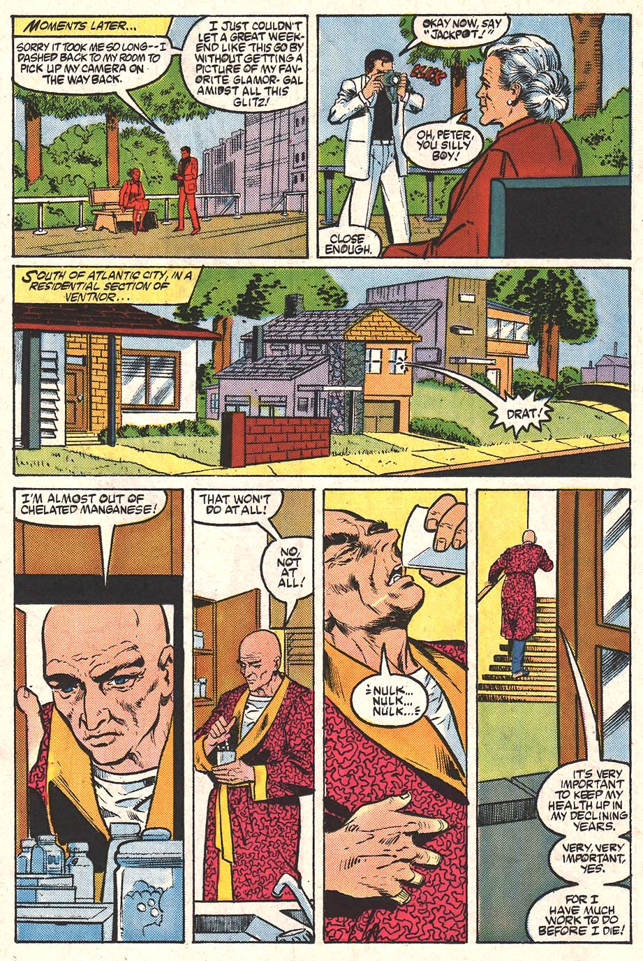 Web of Spider-Man (1985) Issue #24 #34 - English 11