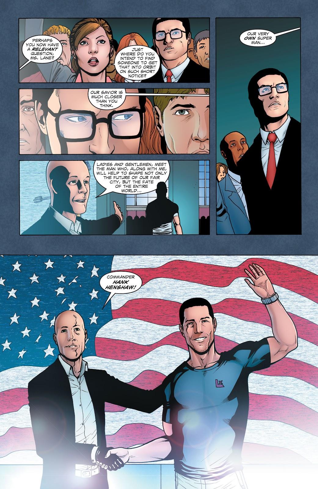 Read online Smallville Season 11 [II] comic -  Issue # TPB 1 - 48