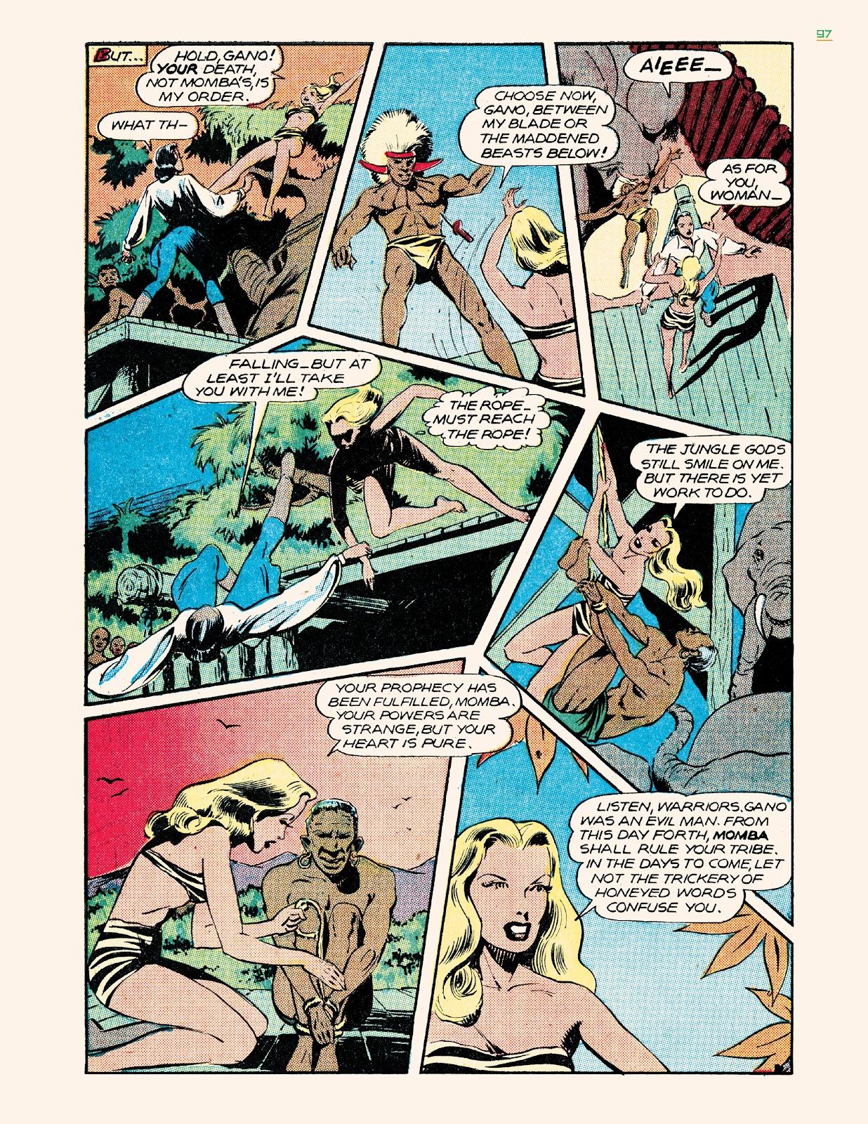 Read online Jungle Girls comic -  Issue # TPB (Part 1) - 97