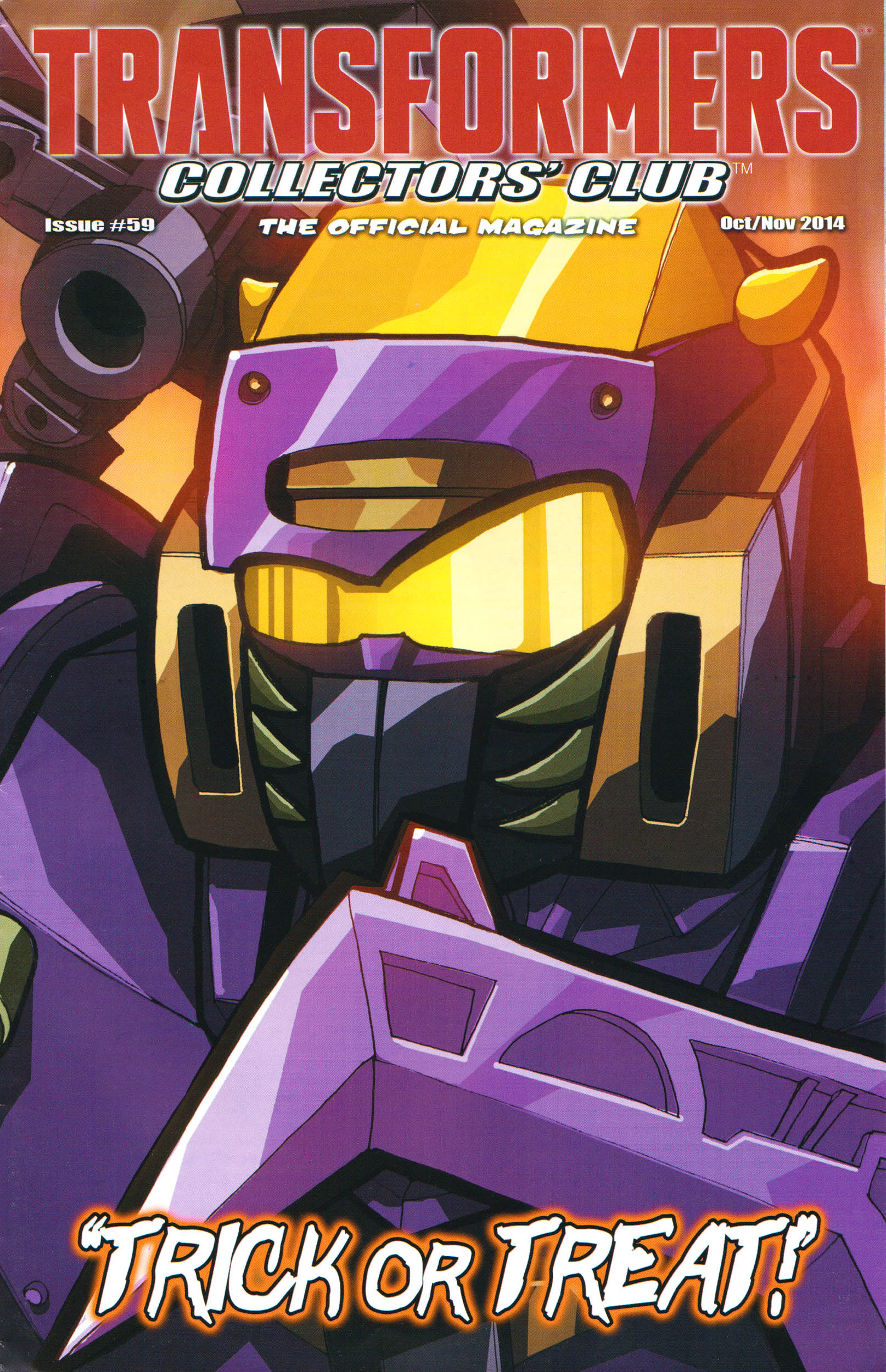Read online Transformers: Collectors' Club comic -  Issue #59 - 1