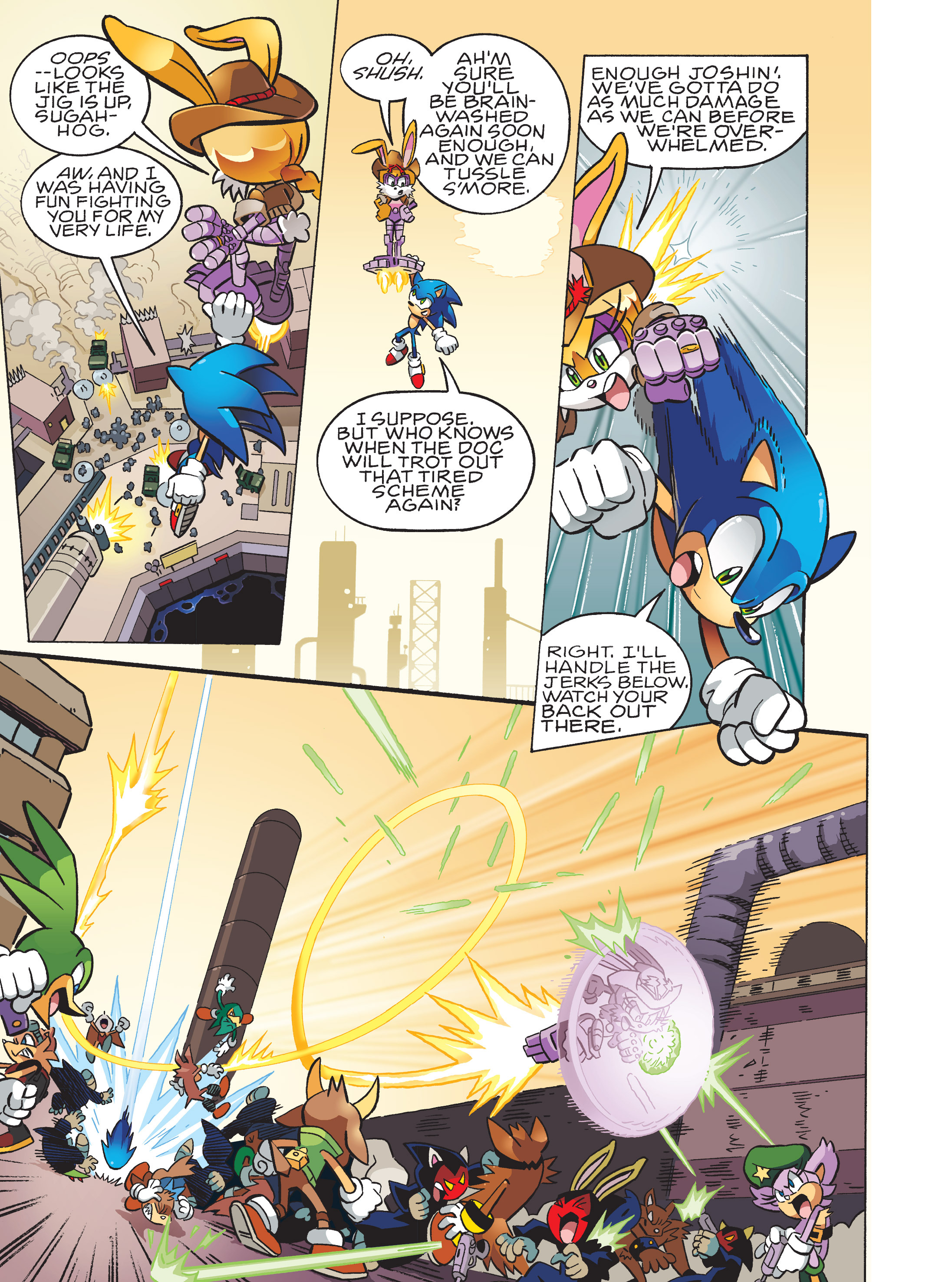 Read online Sonic Super Digest comic -  Issue #10 - 105