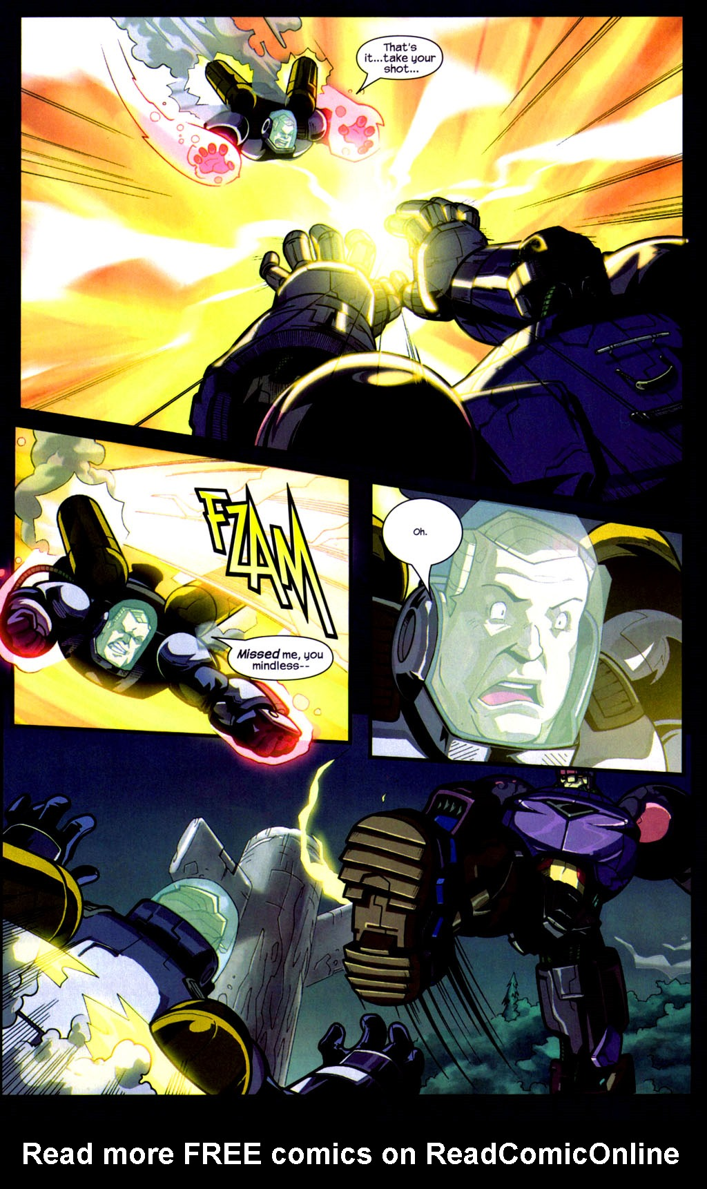 Read online Sentinel comic -  Issue #9 - 9
