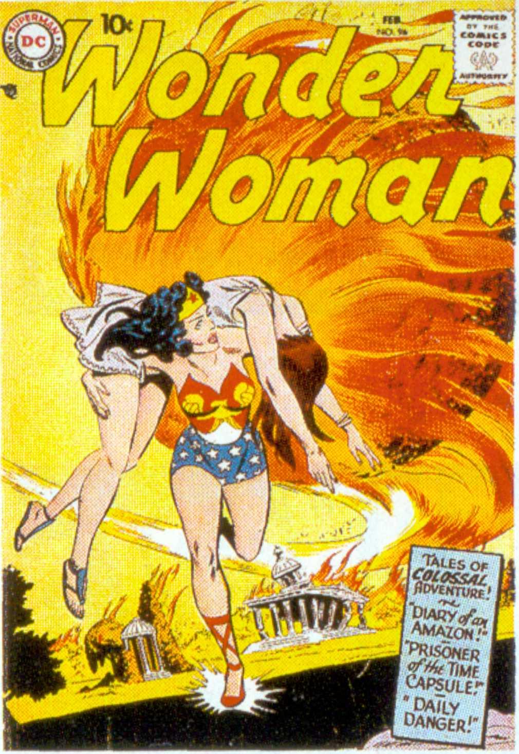 Read online Wonder Woman (1942) comic -  Issue #96 - 1