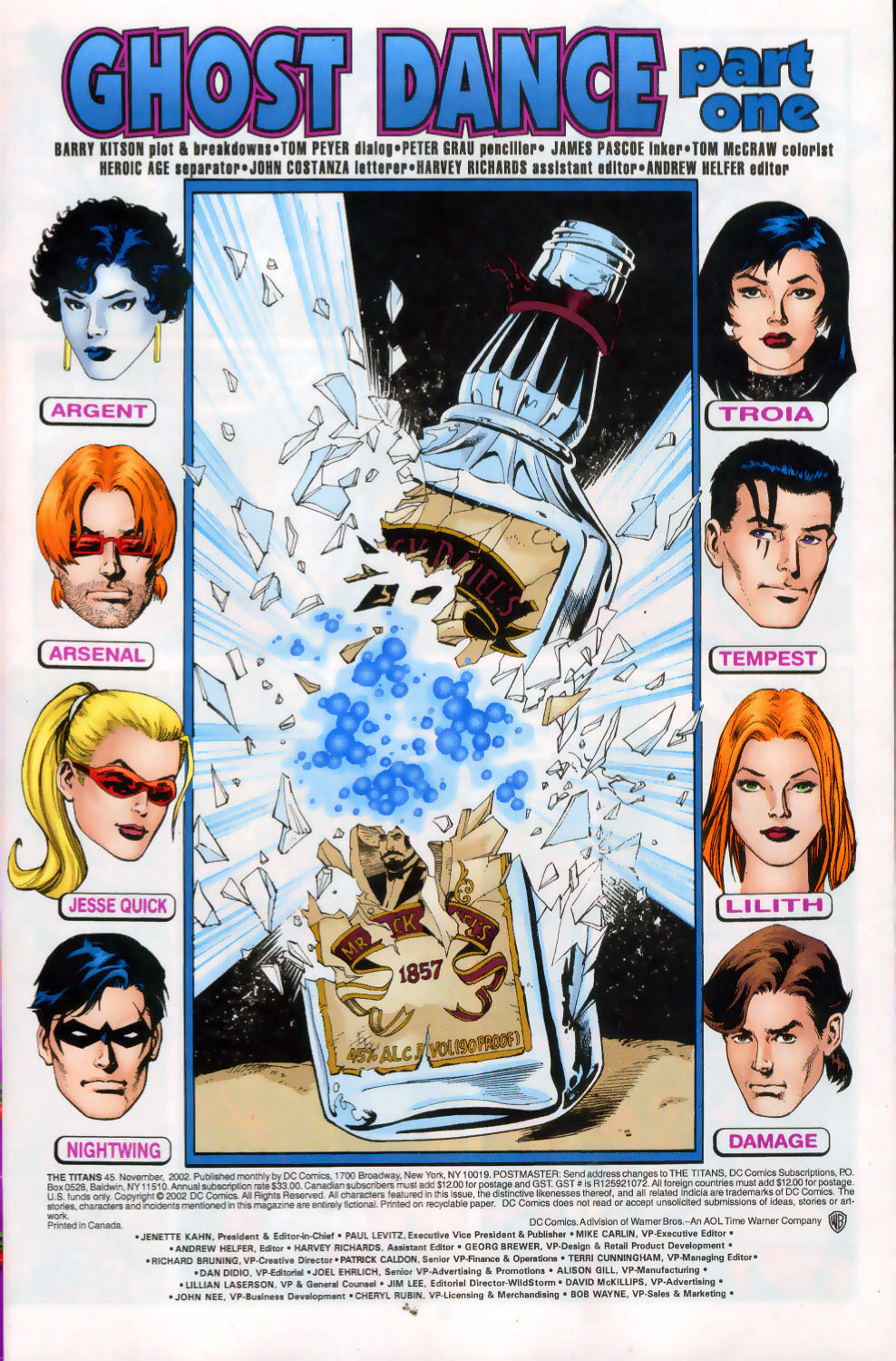 Read online The Titans (1999) comic -  Issue #45 - 2