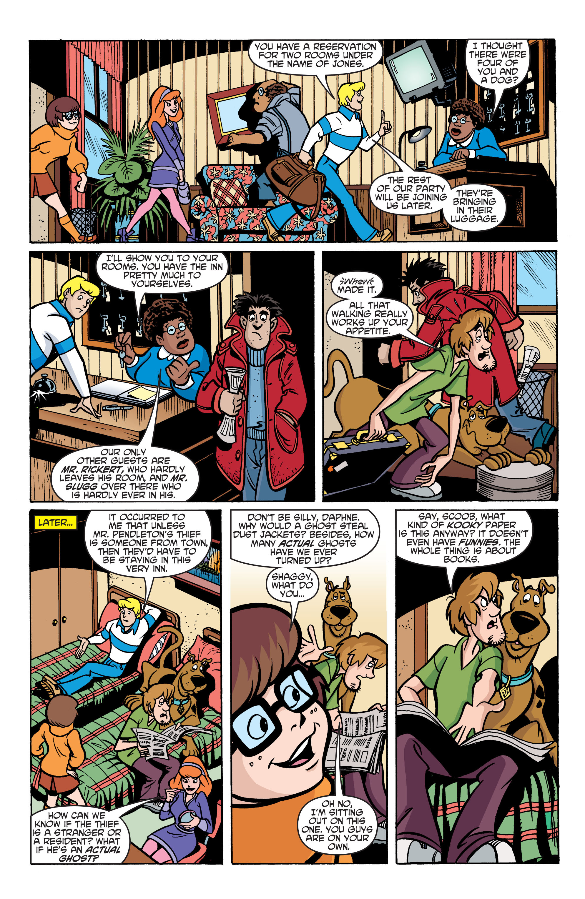 Read online Scooby-Doo: Where Are You? comic -  Issue #76 - 17