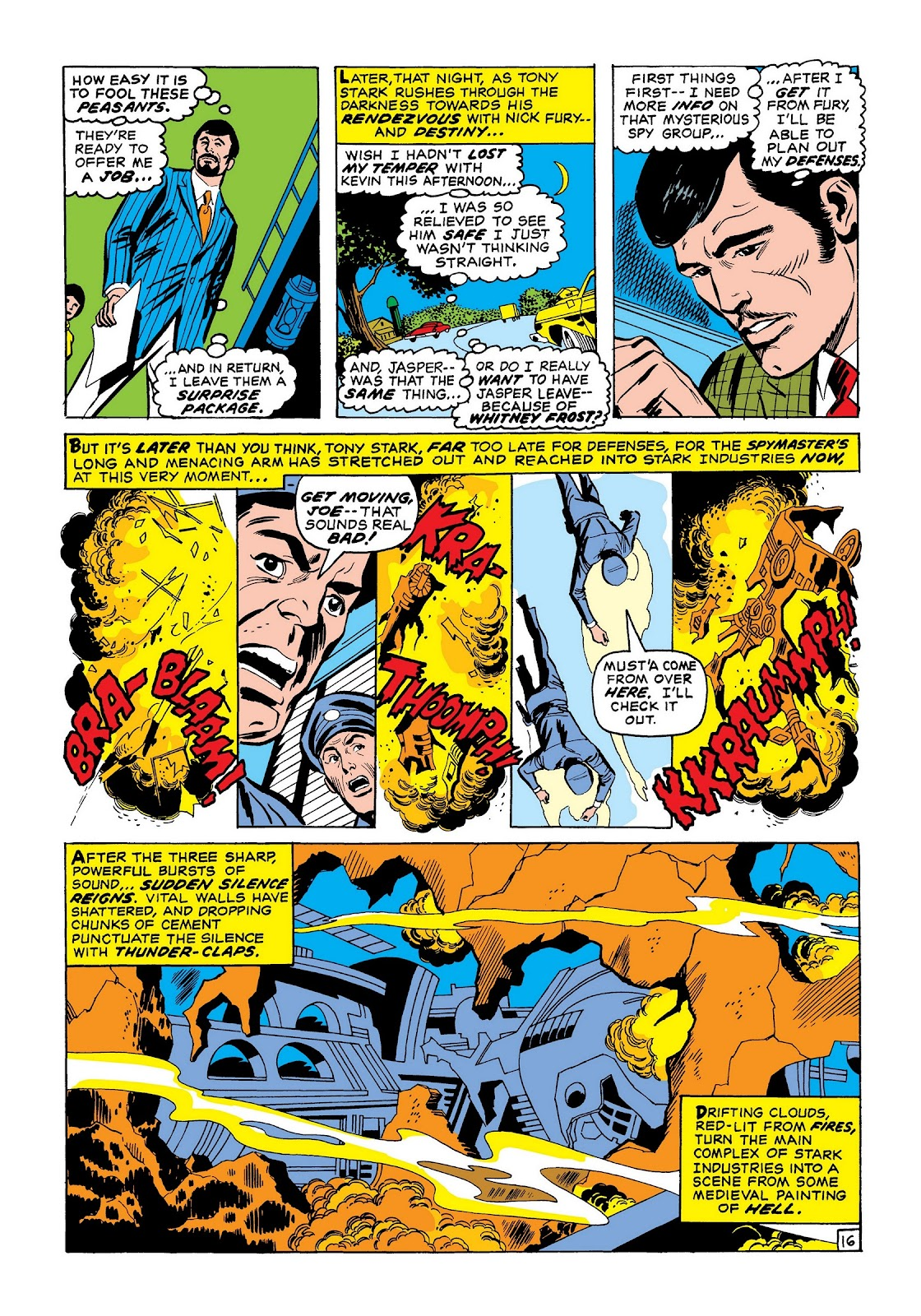 Read online Marvel Masterworks: The Invincible Iron Man comic -  Issue # TPB 7 (Part 2) - 64