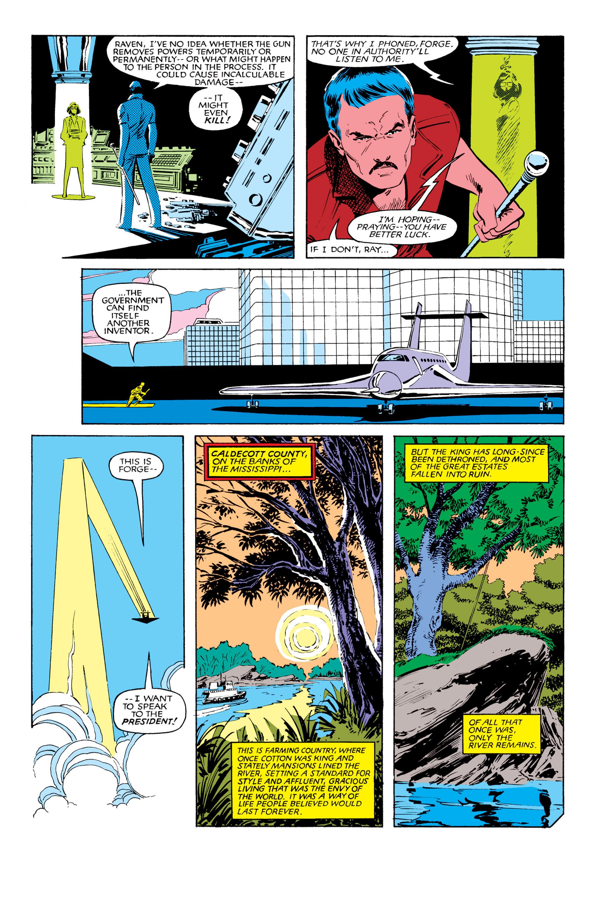 Read online Uncanny X-Men (1963) comic -  Issue #185 - 9