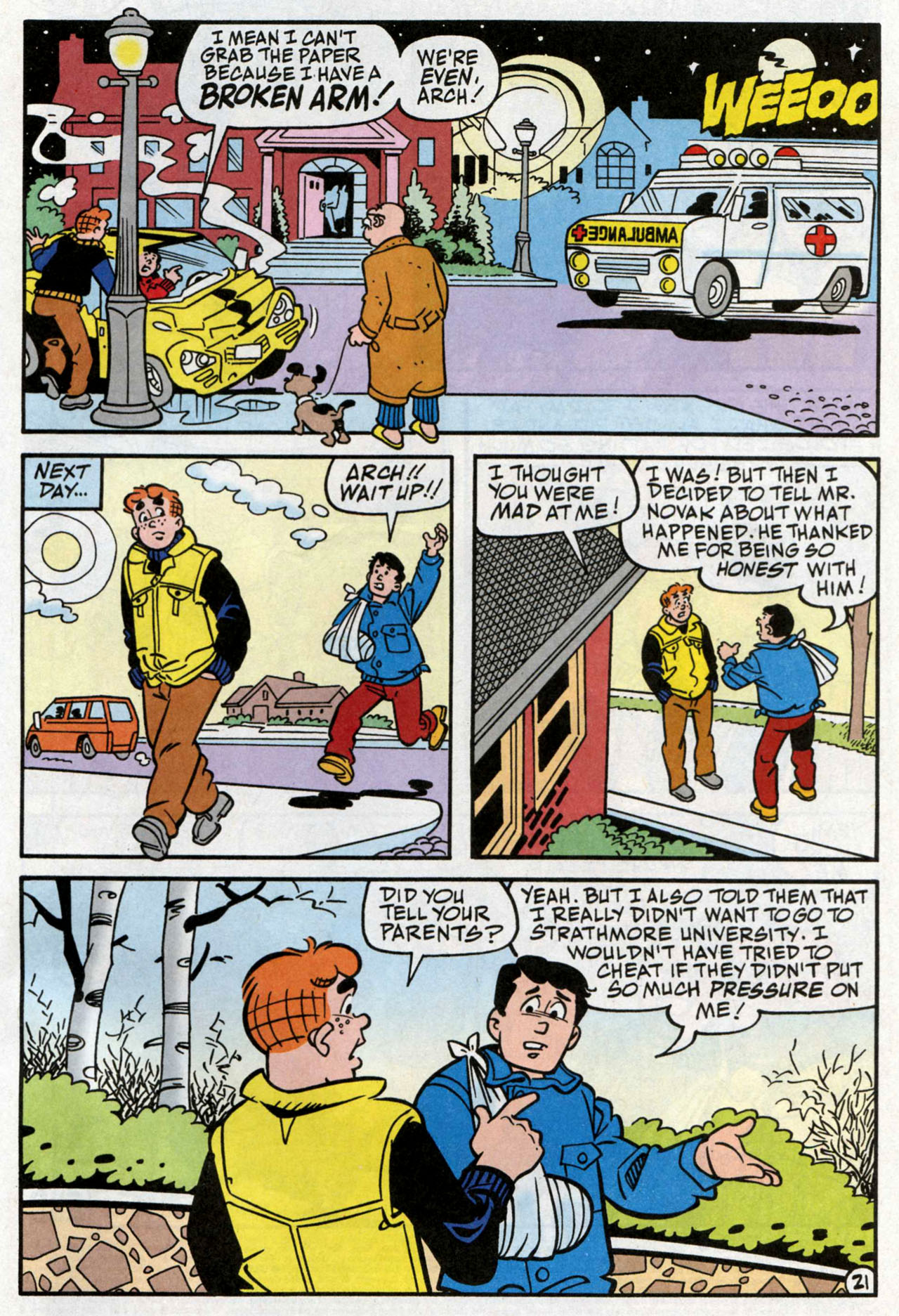 Read online Archie (1960) comic -  Issue #582 - 22