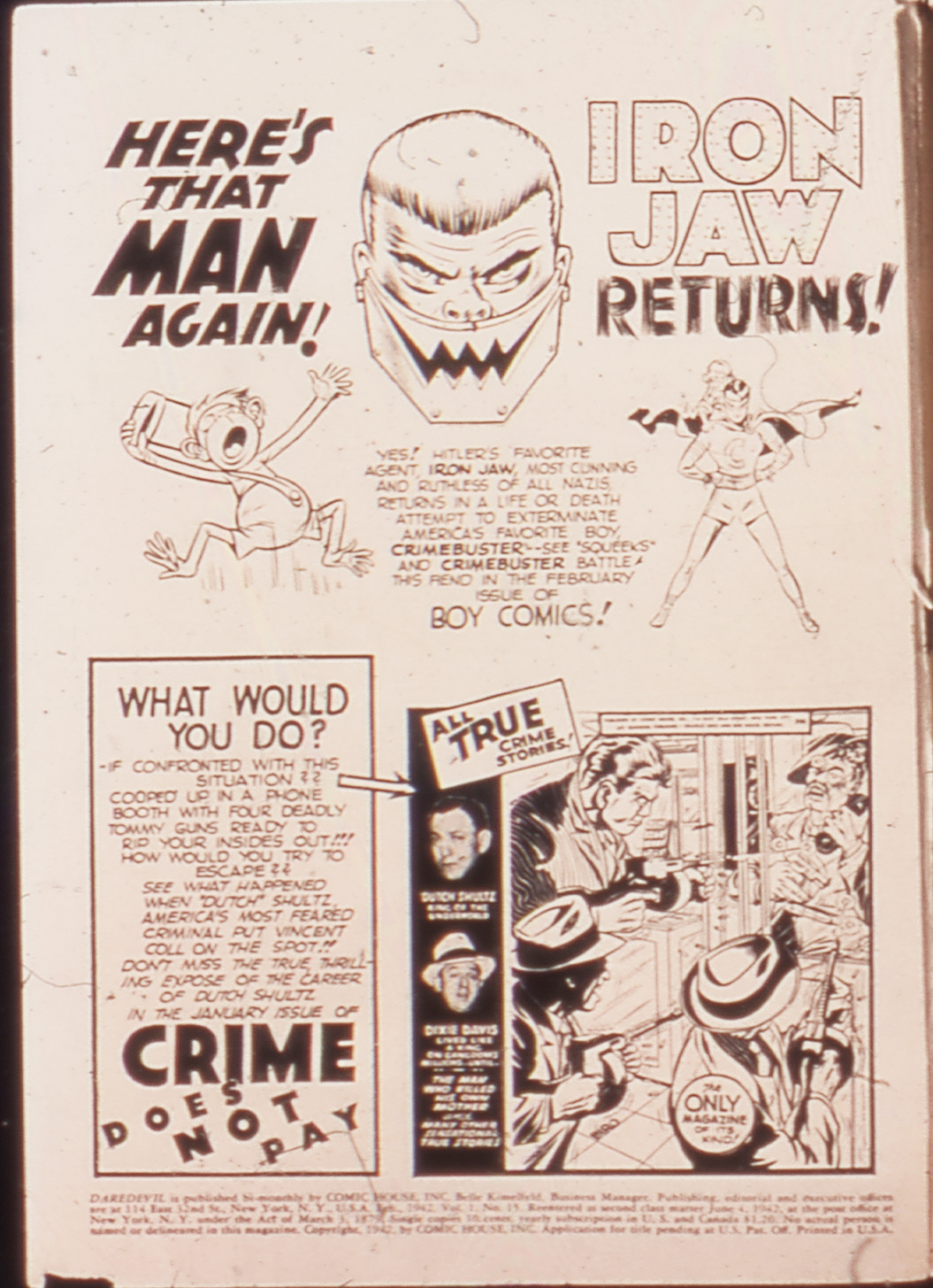 Daredevil (1941) issue 15 - Page 2