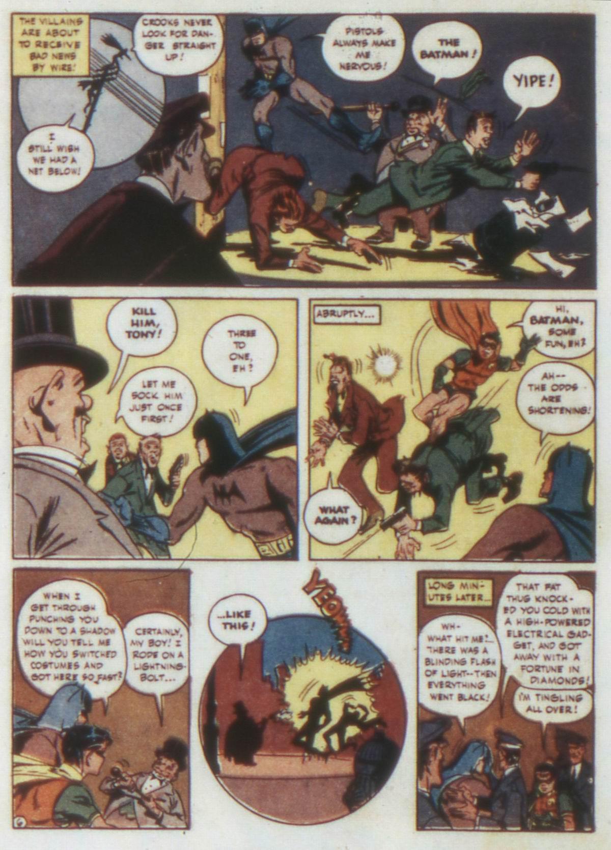 Read online Detective Comics (1937) comic -  Issue #74 - 8