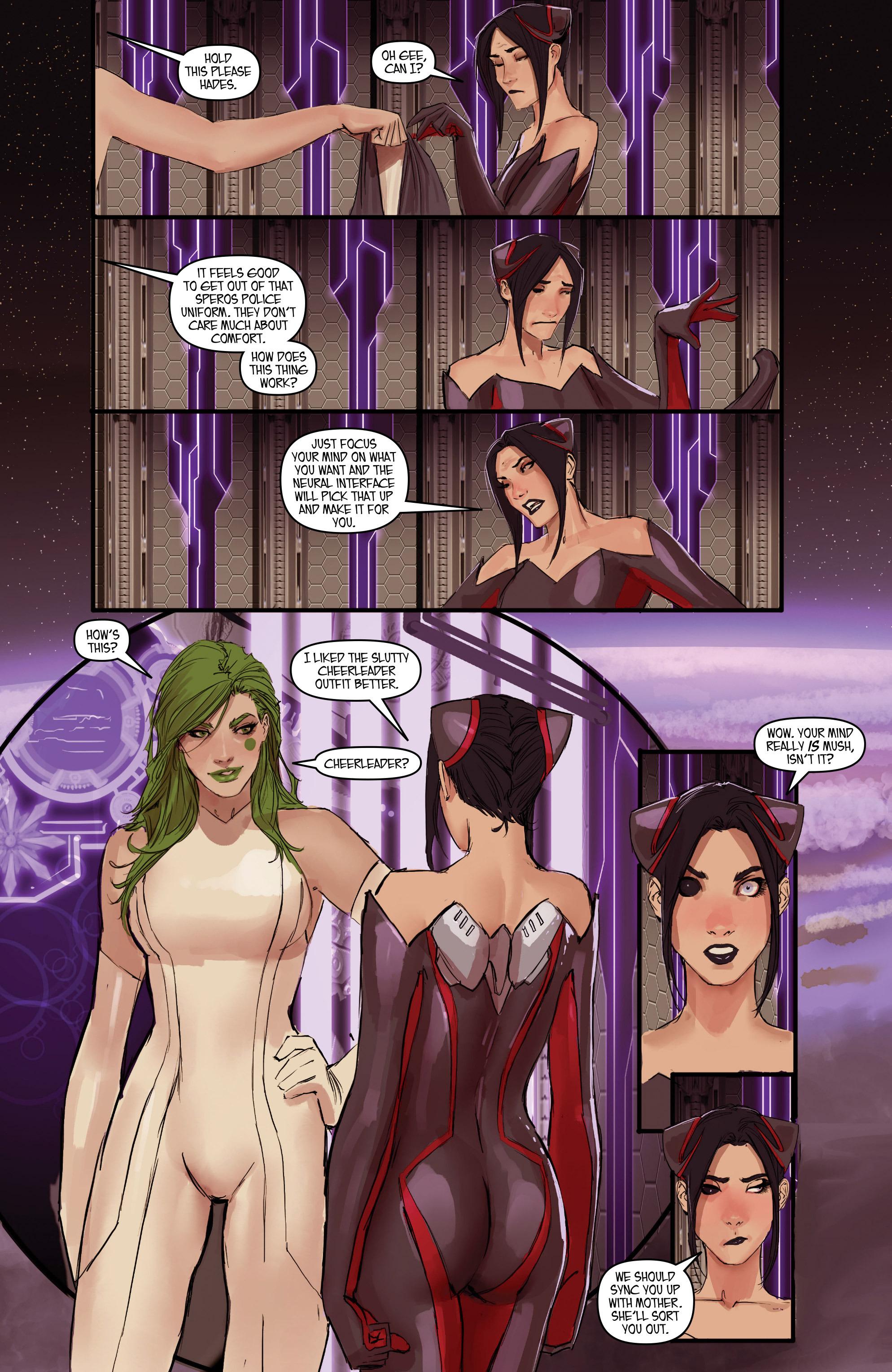 Read online Aphrodite IX (2013) comic -  Issue #Aphrodite IX (2013) _TPB 2 - 100