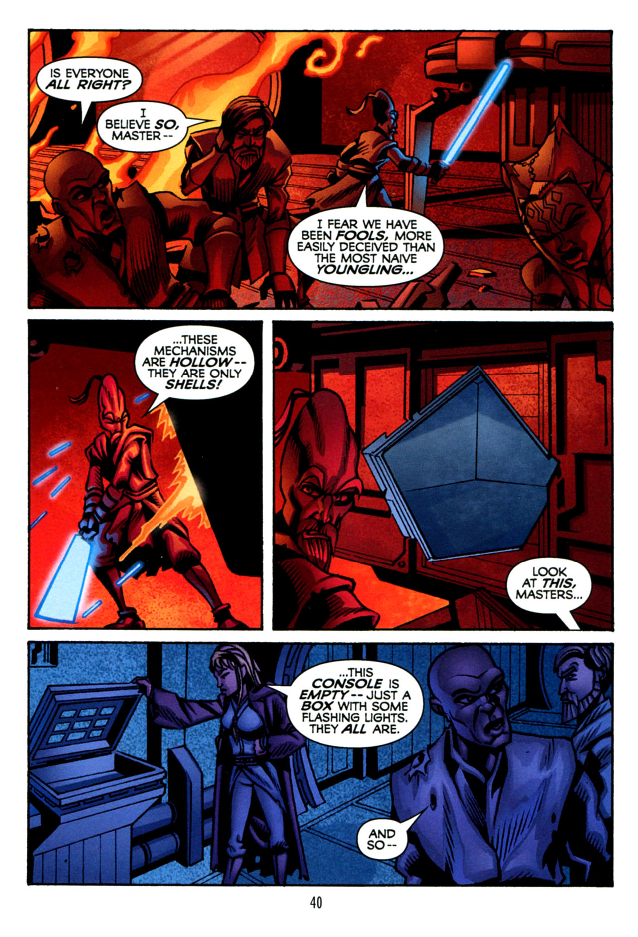 Read online Star Wars: The Clone Wars - The Starcrusher Trap comic -  Issue # Full - 41