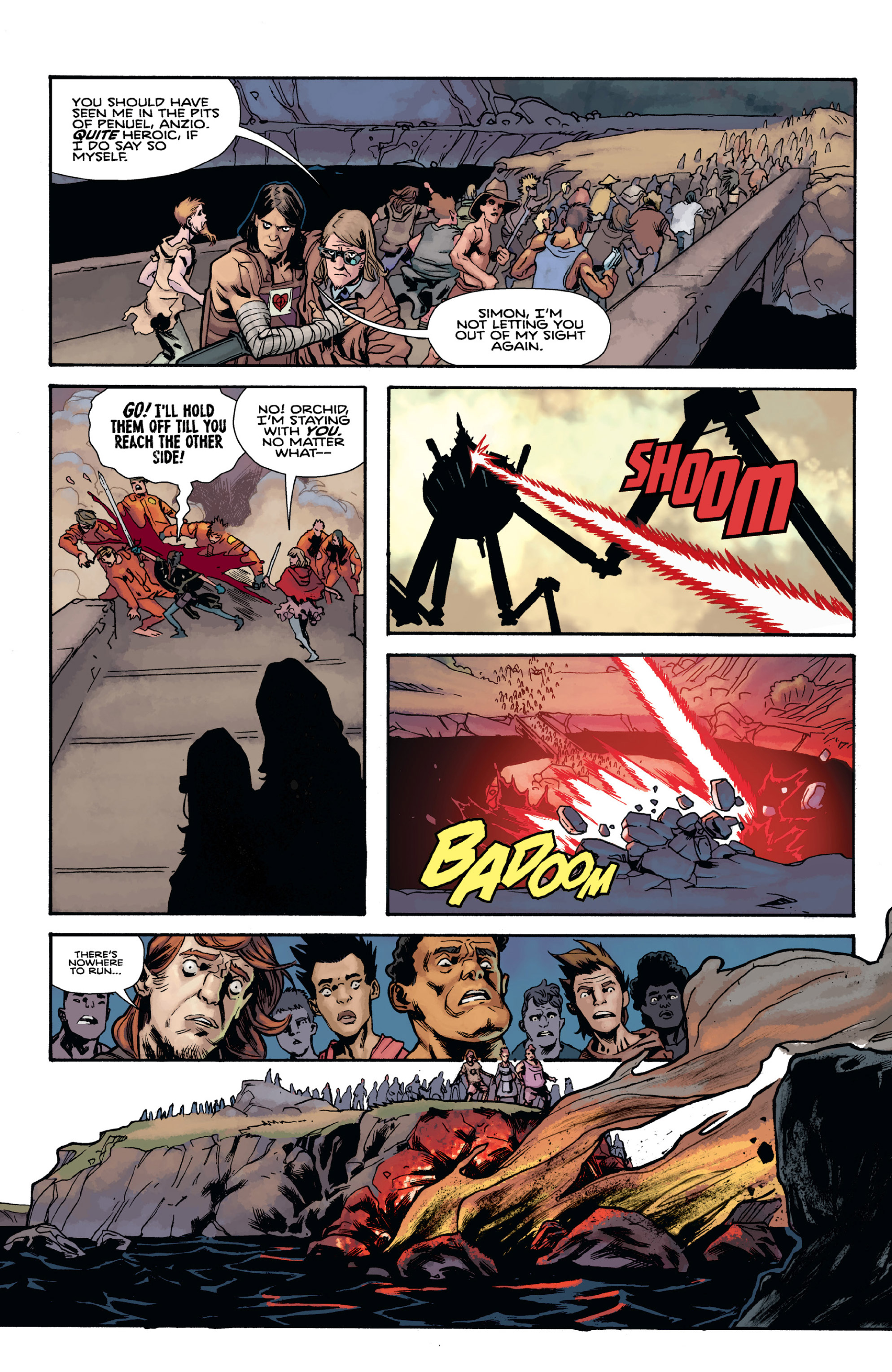 Read online Orchid comic -  Issue # TPB 3 - 86