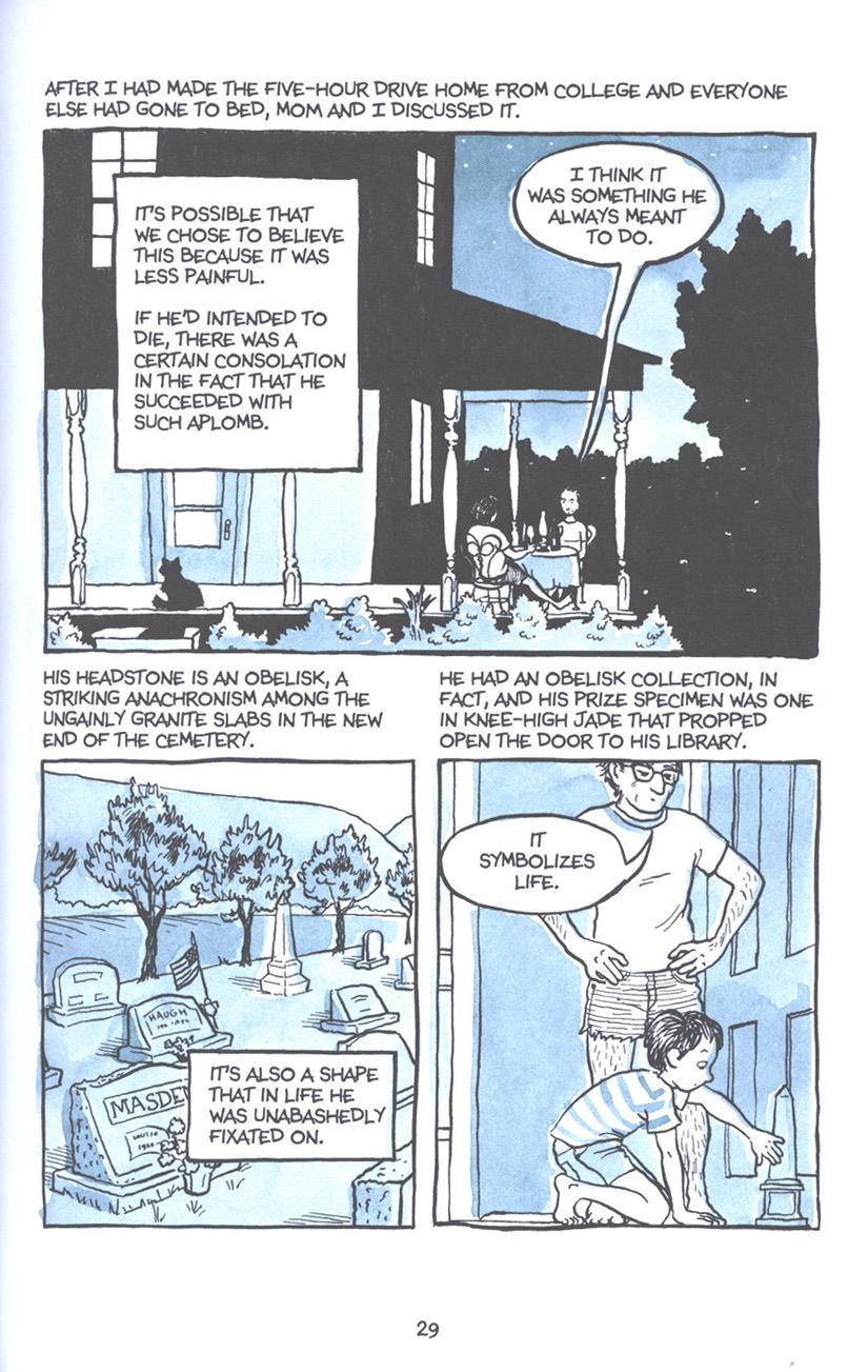 Read online Fun Home: A Family Tragicomic comic -  Issue # TPB - 36